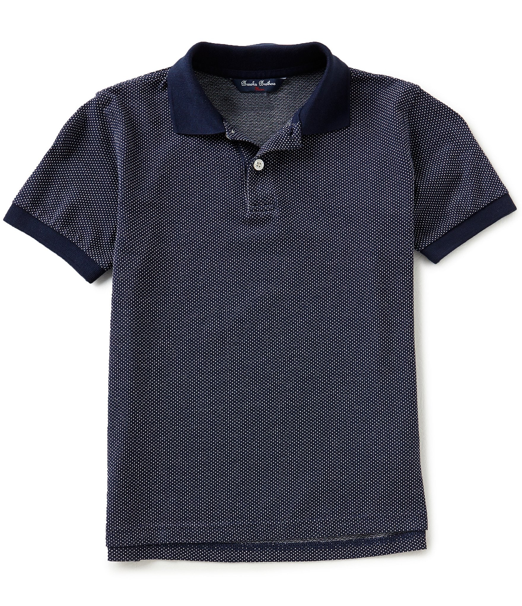Brooks brothers little big boys 4 20 short sleeve pique for Brooks brothers boys shirts