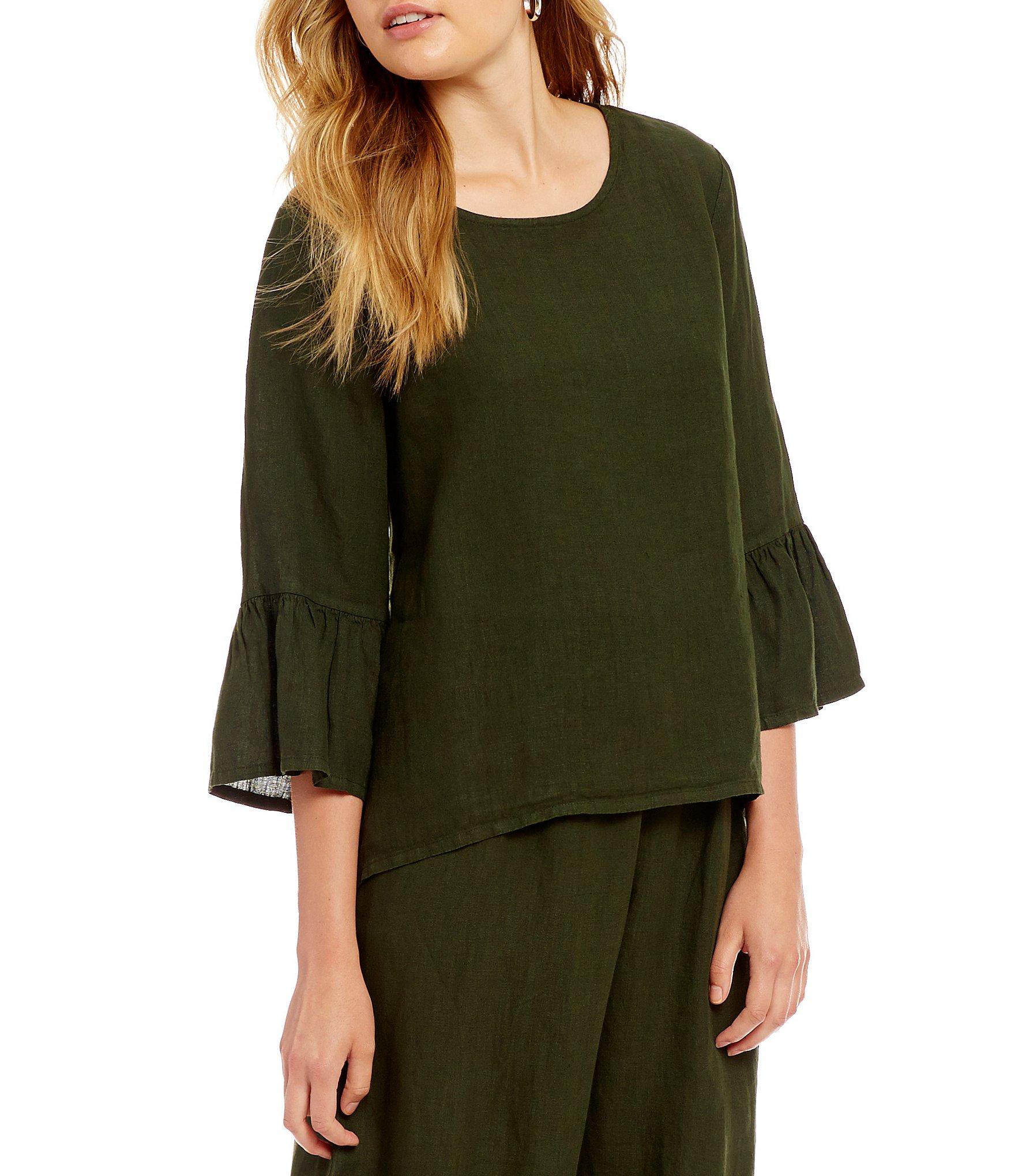 Bryn Walker Light Linen Fran Shirt