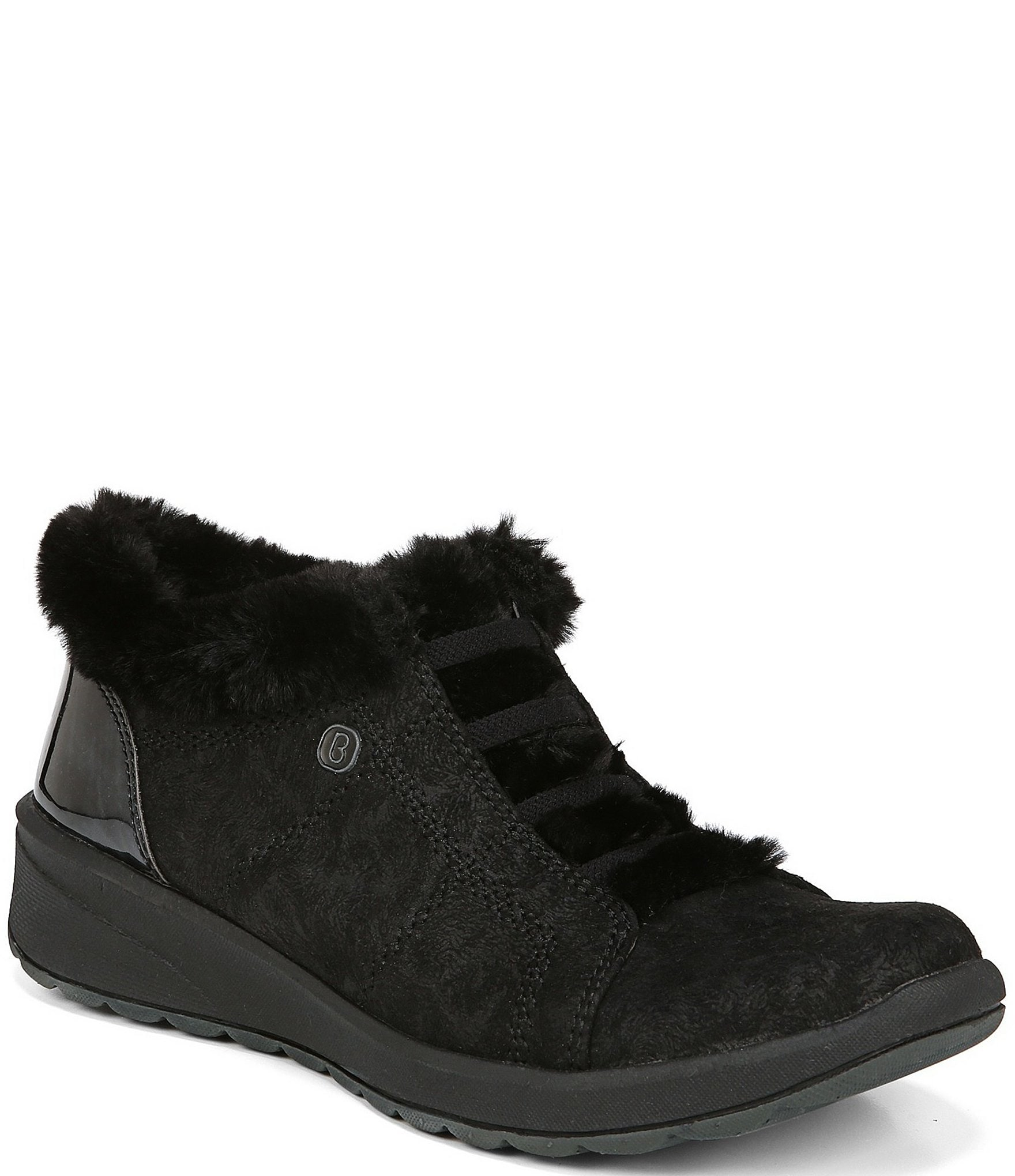 BZees Womens Golden Ankle Boot