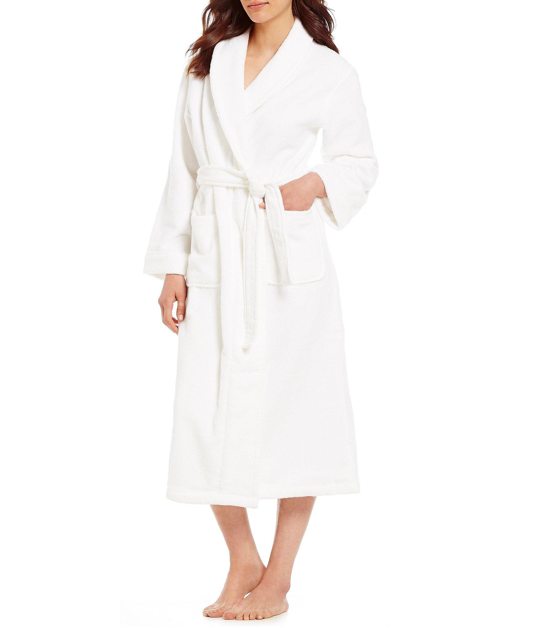 White Women S Lounge Intimate Lingerie Robes Dillard S