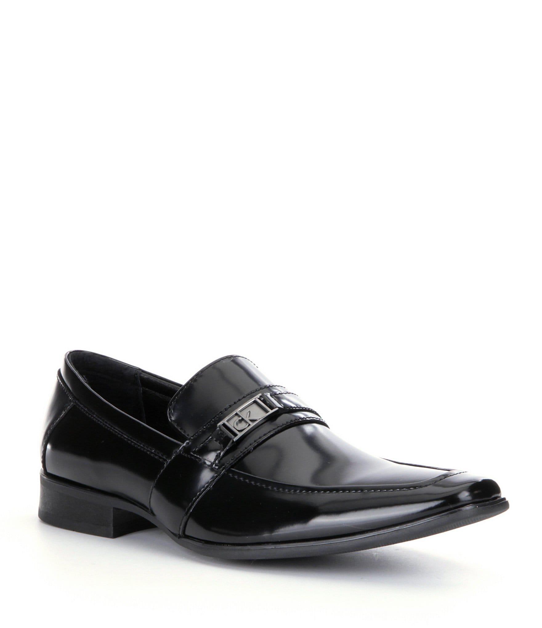calvin klein bartley 180 s patent dress shoes dillards