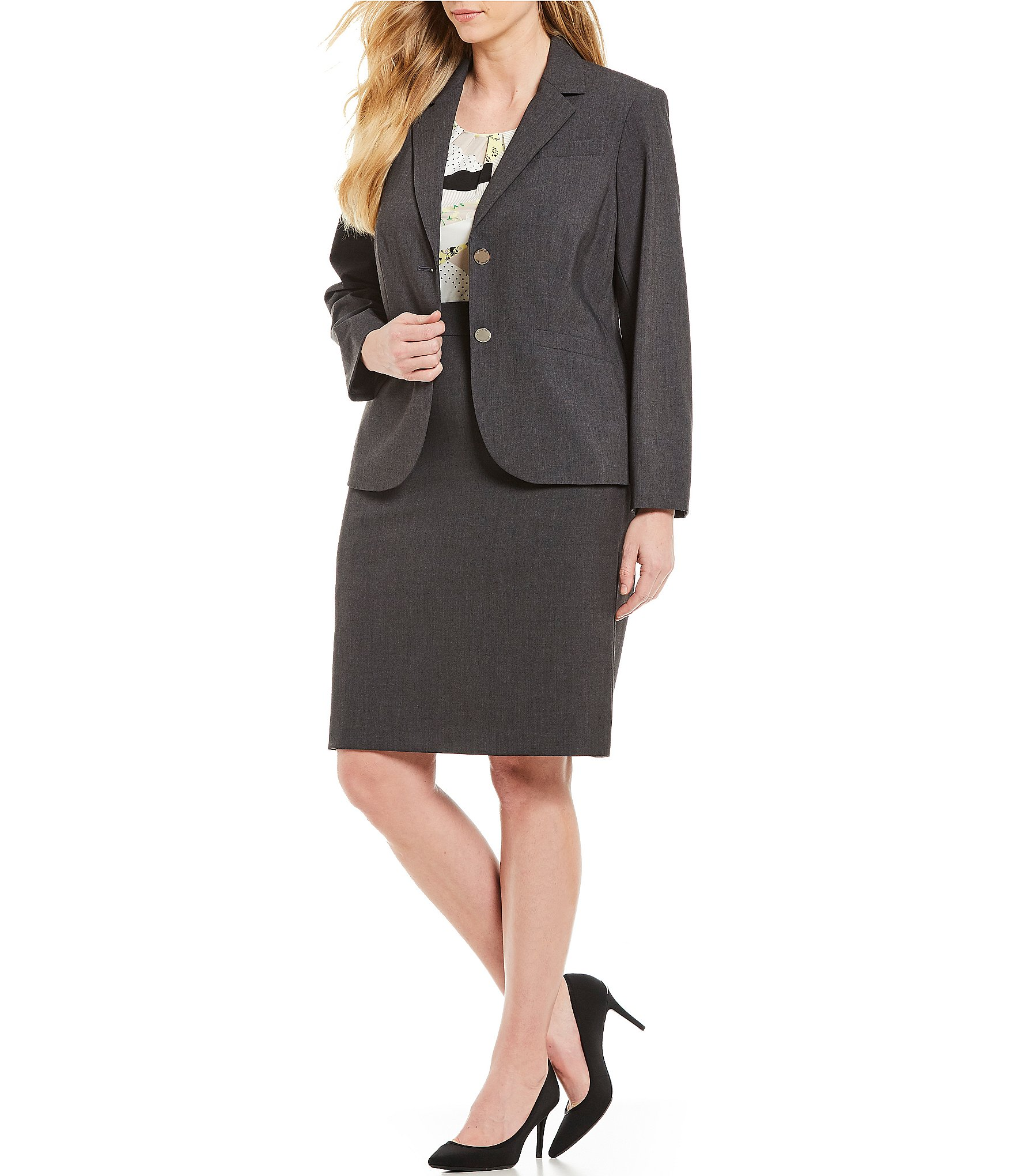 Women Skirt And Jacket Suit Women S Clothing Apparel Dillard S