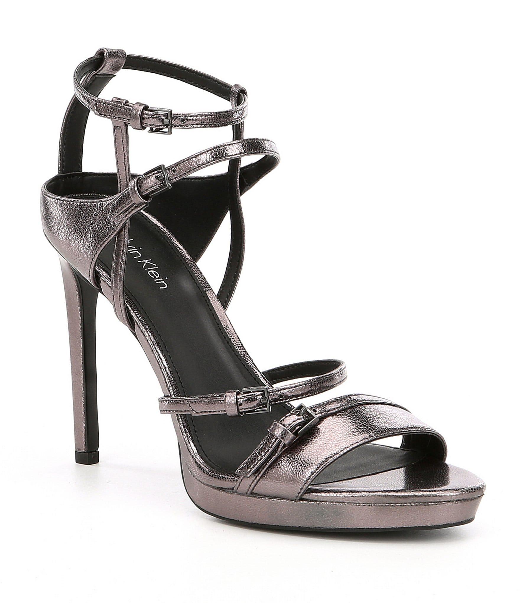 Gunmetal Metallic Dress Shoes
