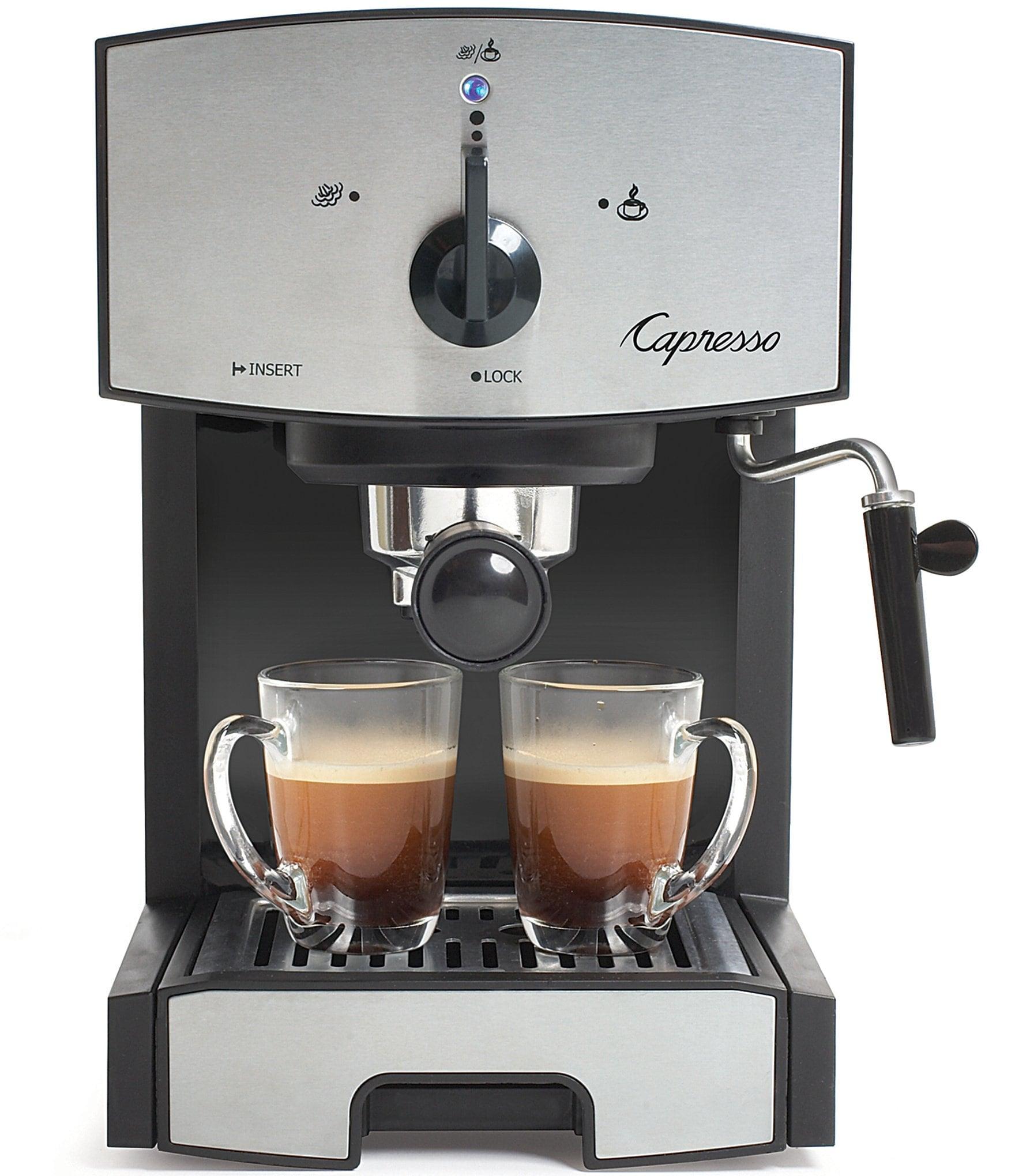 Coffee Maker Pump Not Working : Capresso EC50 Stainless Steel Pump Espresso & Cappuccino Machine Dillards