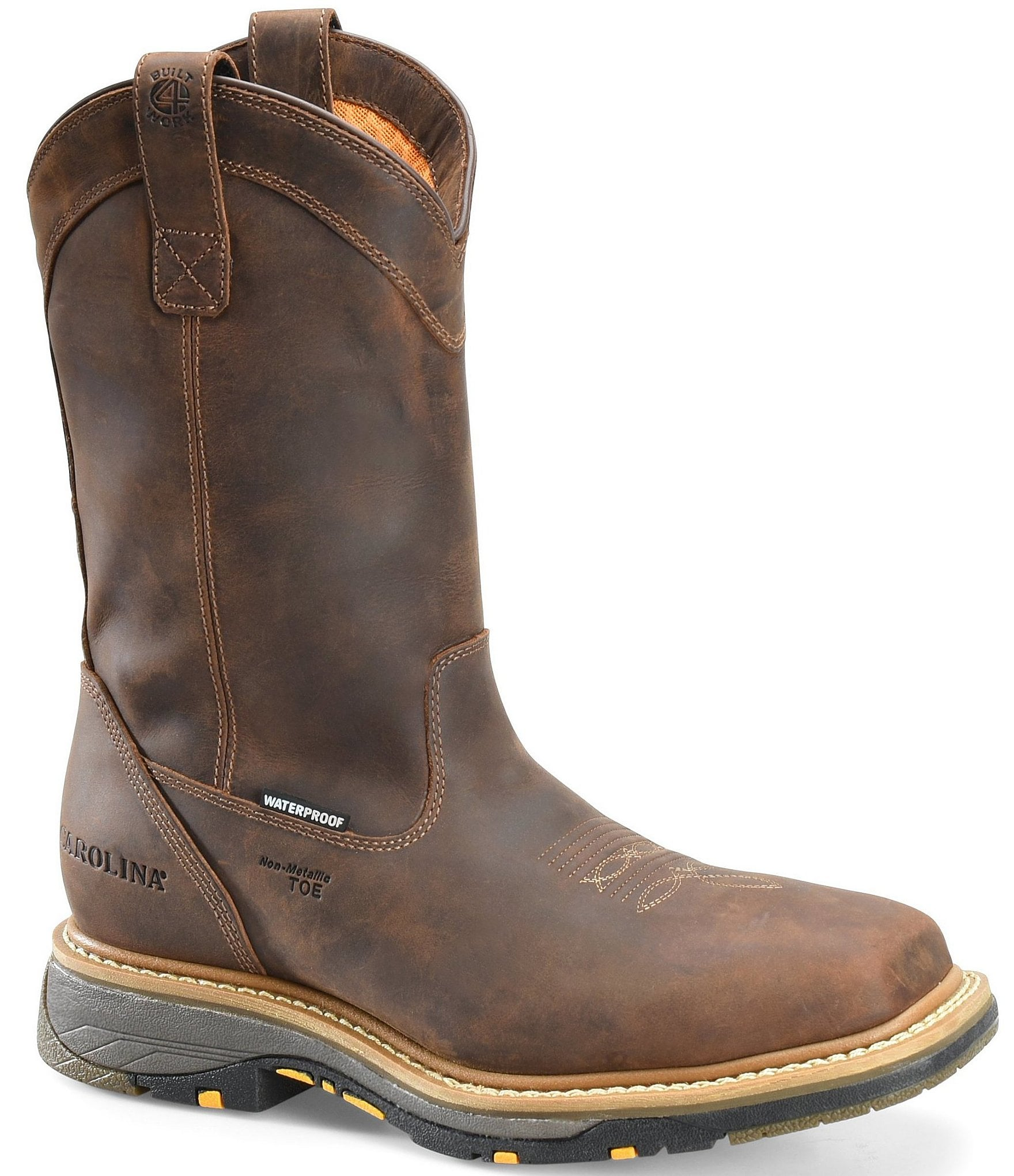 e3144e3ec40 Carolina Men's 11#double; WorkFlex Waterproof Composite Square Toe Roper  Work Boots