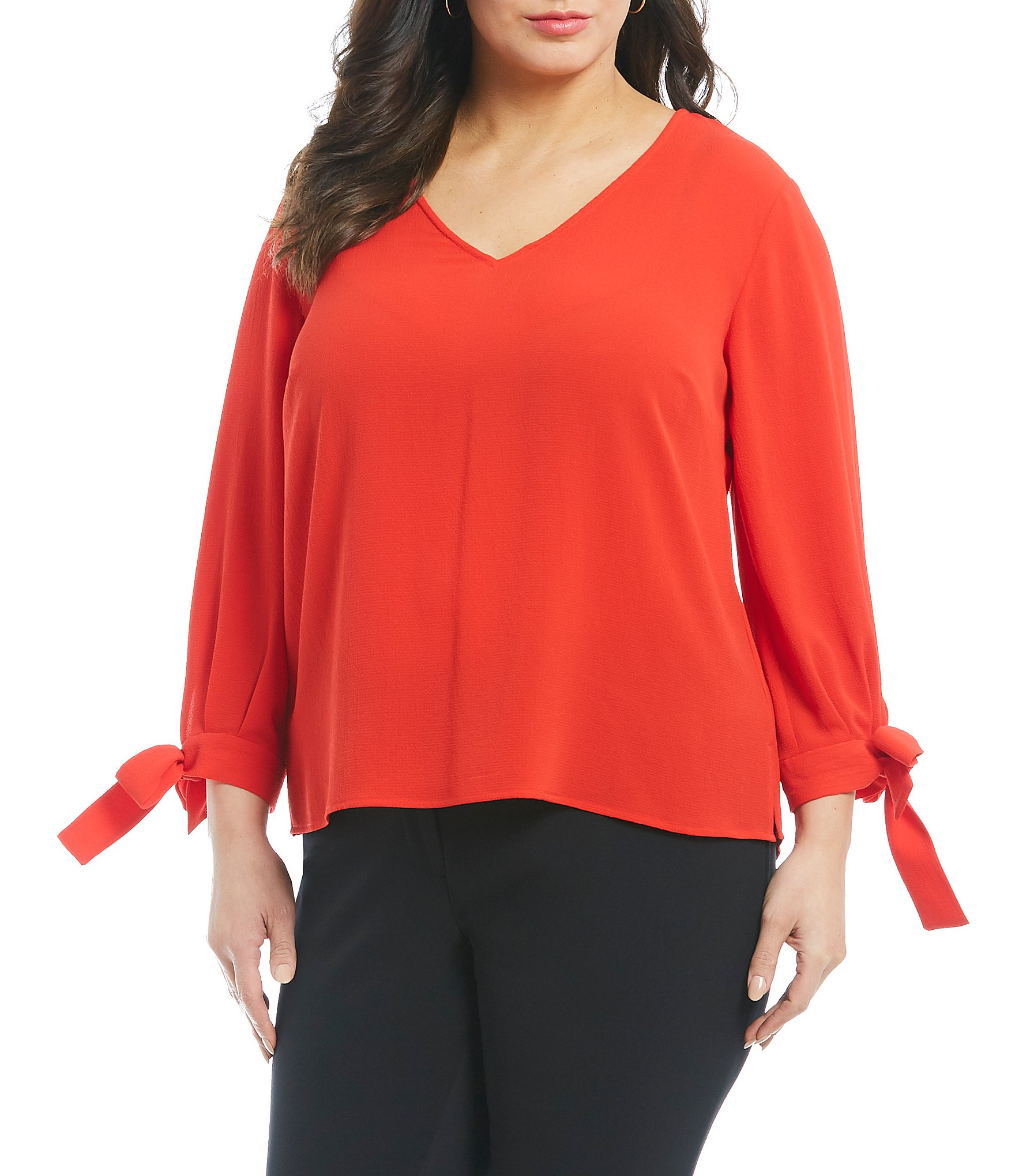 Red Plus Size Dresses Womens Plus Size Clothing Dillards