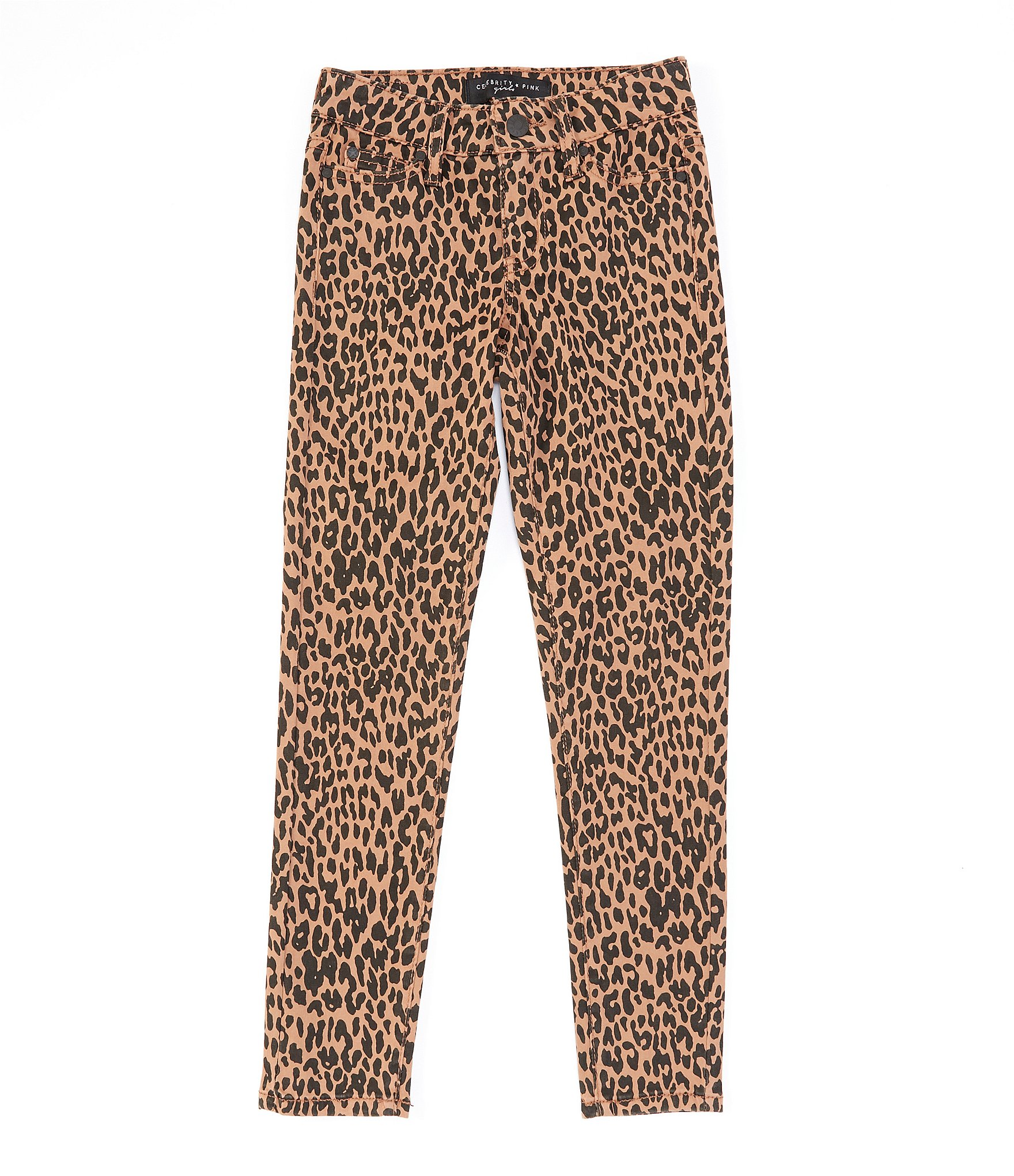100% genuine super specials yet not vulgar Celebrity Pink Big Girls 7-16 Cheetah-Print Skinny Jean