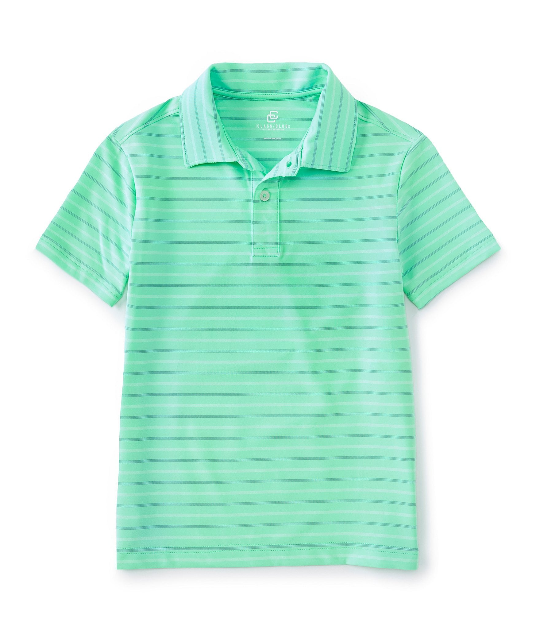 Red or Blue Thin Stripes Solid Blue Under Armour Boys Size 4,5,6,7 Polo Shirt