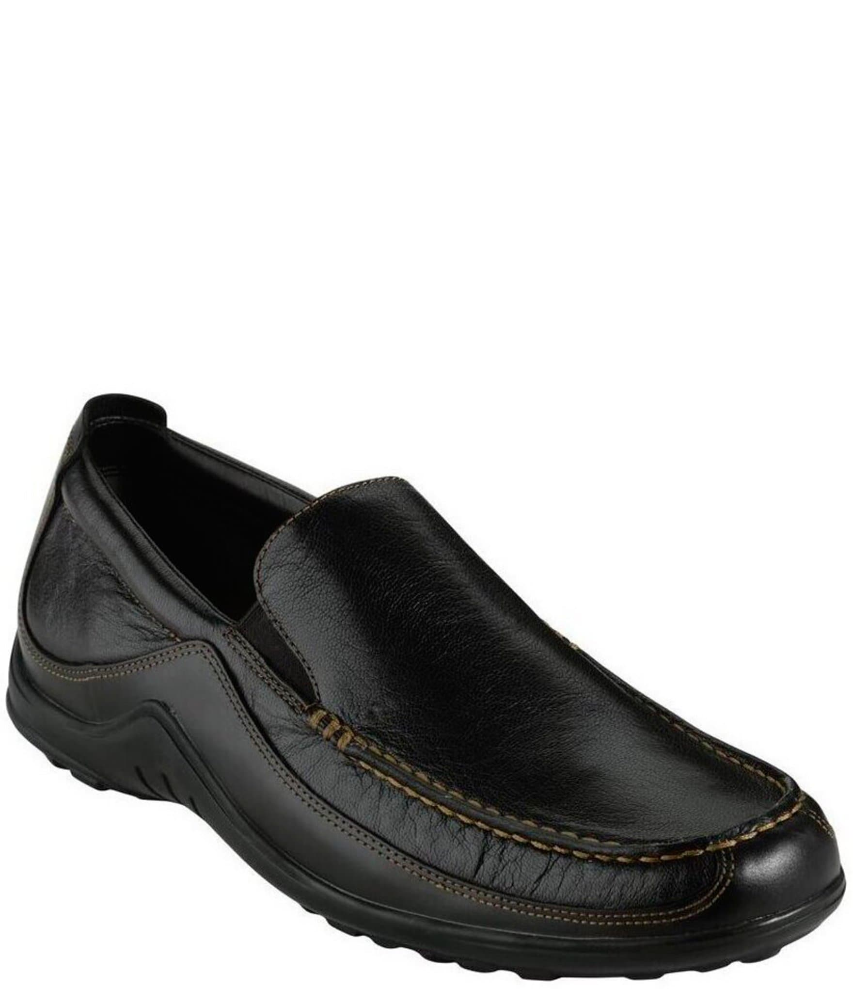 2069d4428 Black Men s Slip-On Casual Shoes