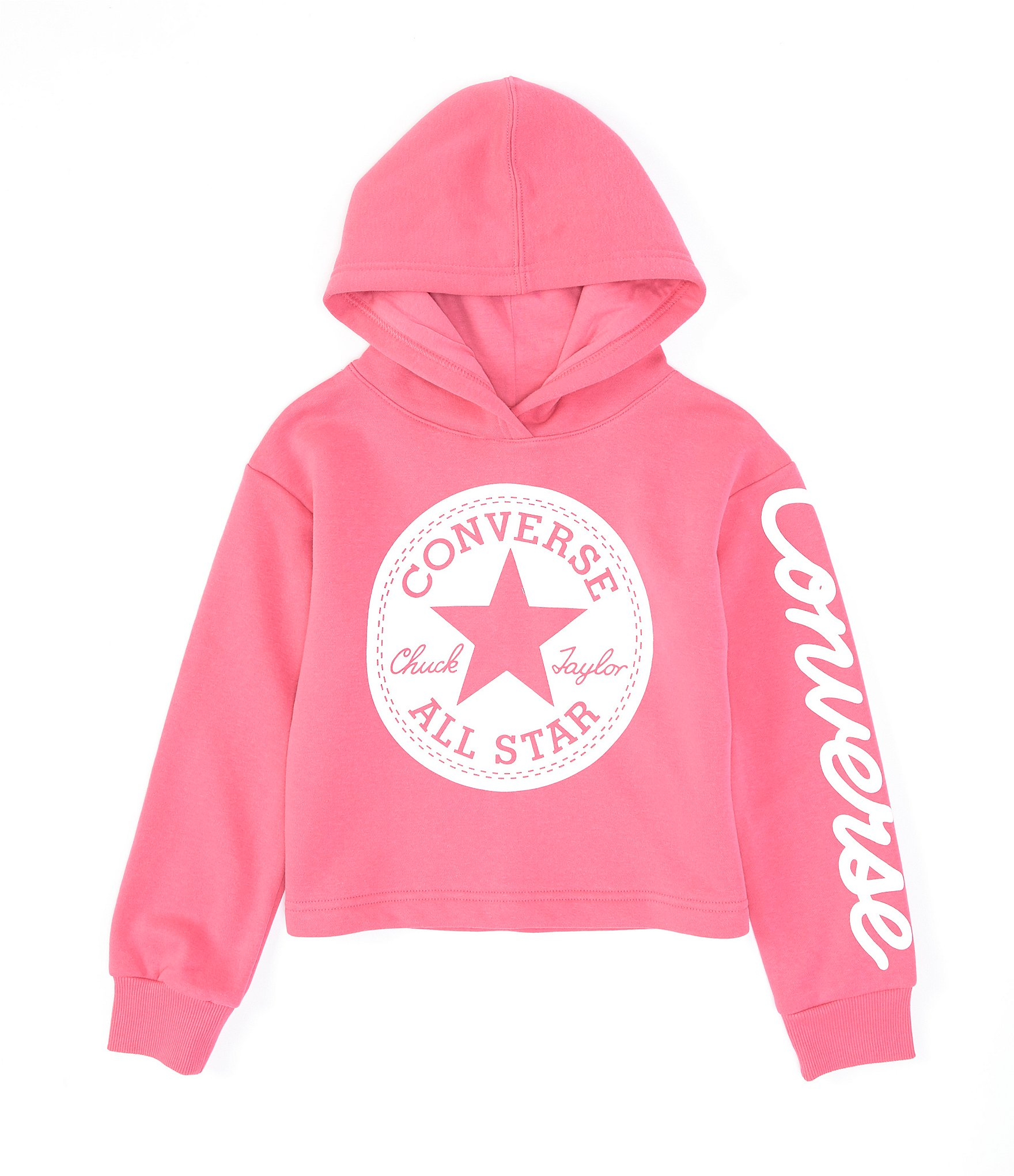 Converse Core Blocked W hoodie white blue pink