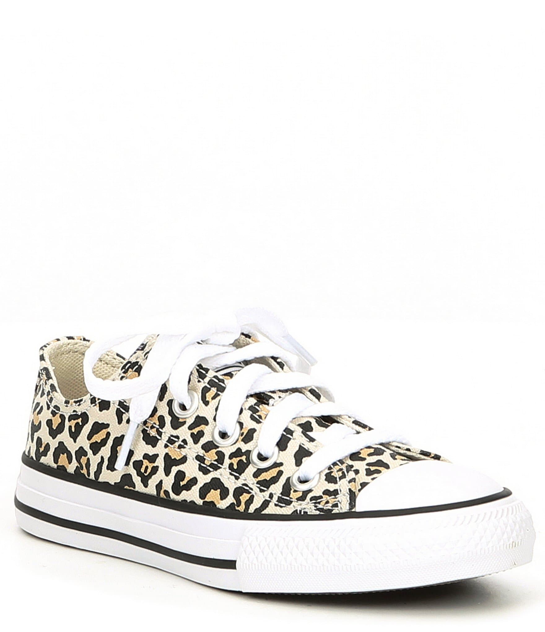 Converse Girls' Chuck Taylor All Star Leopard Print Sneakers (Toddler) |  Dillard's