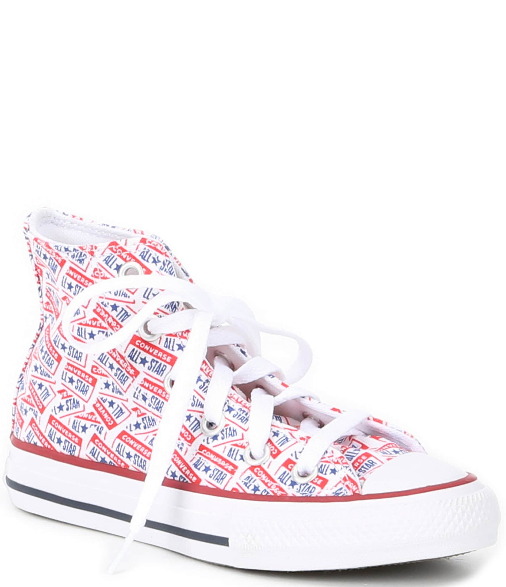CONVERSE CHUCK TAYLOR ALL STAR HI TOP YOUTHS//KIDS CANVAS SHOES SNEAKERS