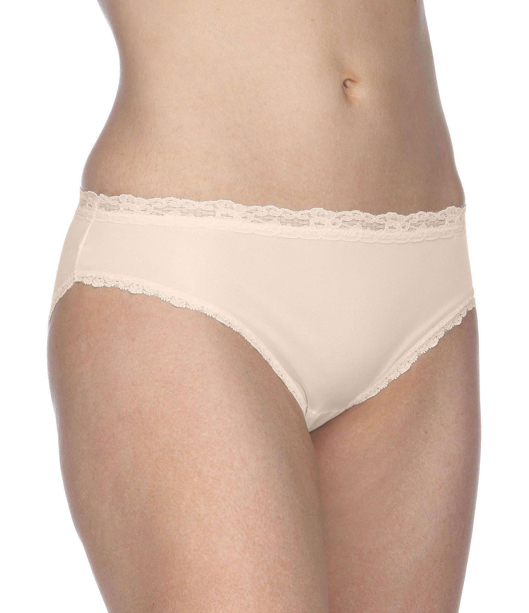 080e18e808 Cotillion Nylon Lace-Trim Bikini Panty