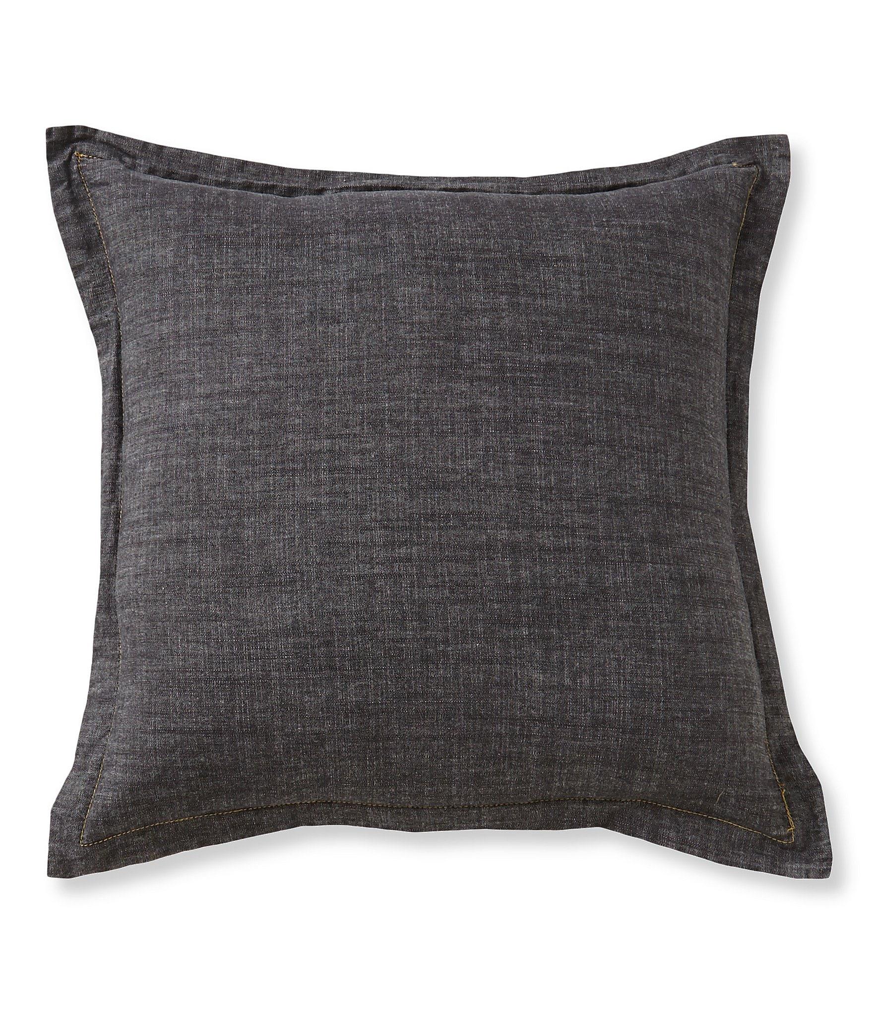 Cremieux Vintage Denim Square Pillow Dillards