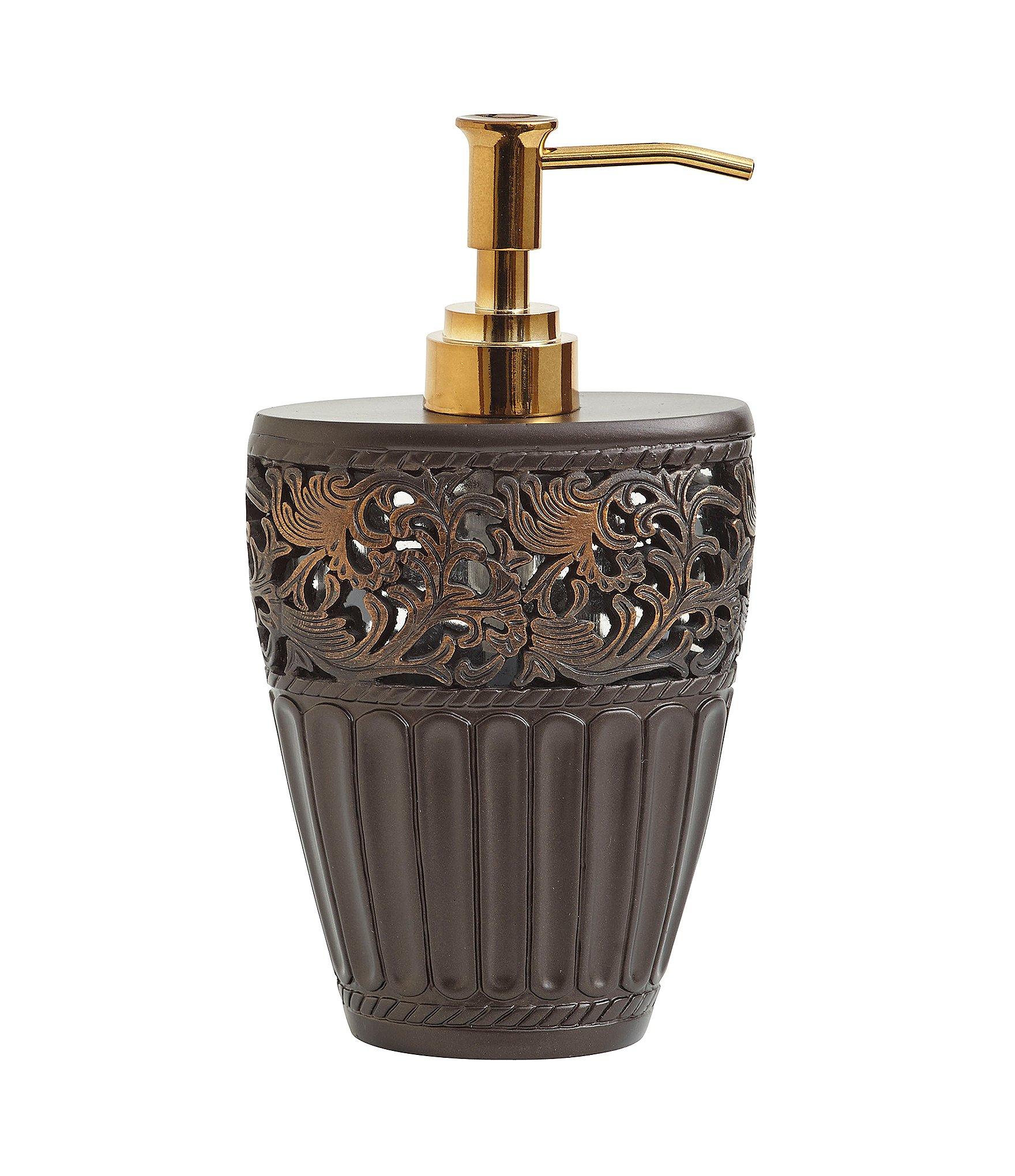 Croscill marrakesh lotion dispenser dillards for Dillards bathroom accessories