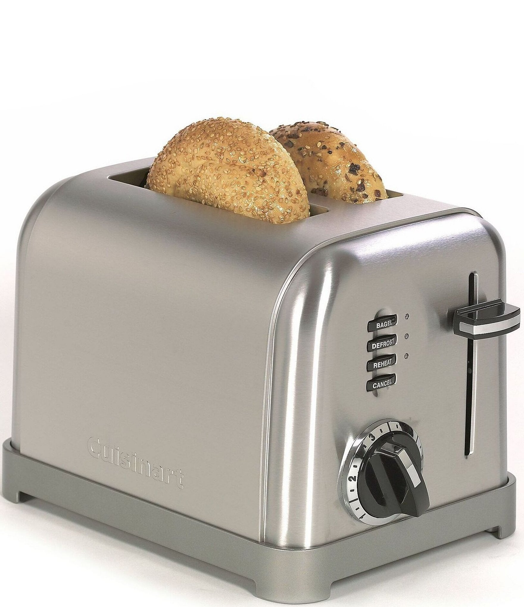 Cuisinart 2 Slice Brushed Stainless Metal Classic Toaster Dillard S