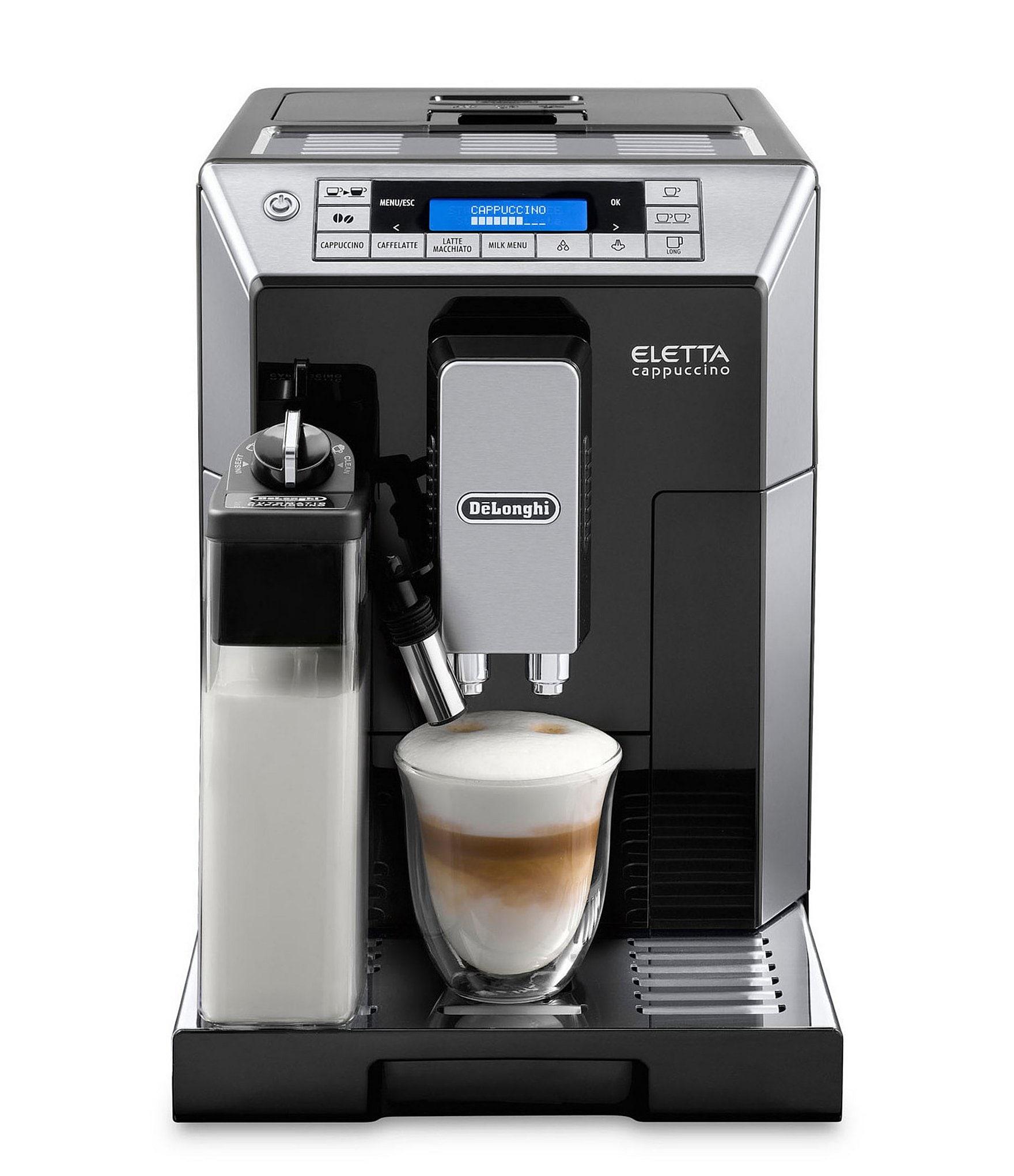 DeLonghi Eletta Automatic Espresso Machine with Latte Crema System