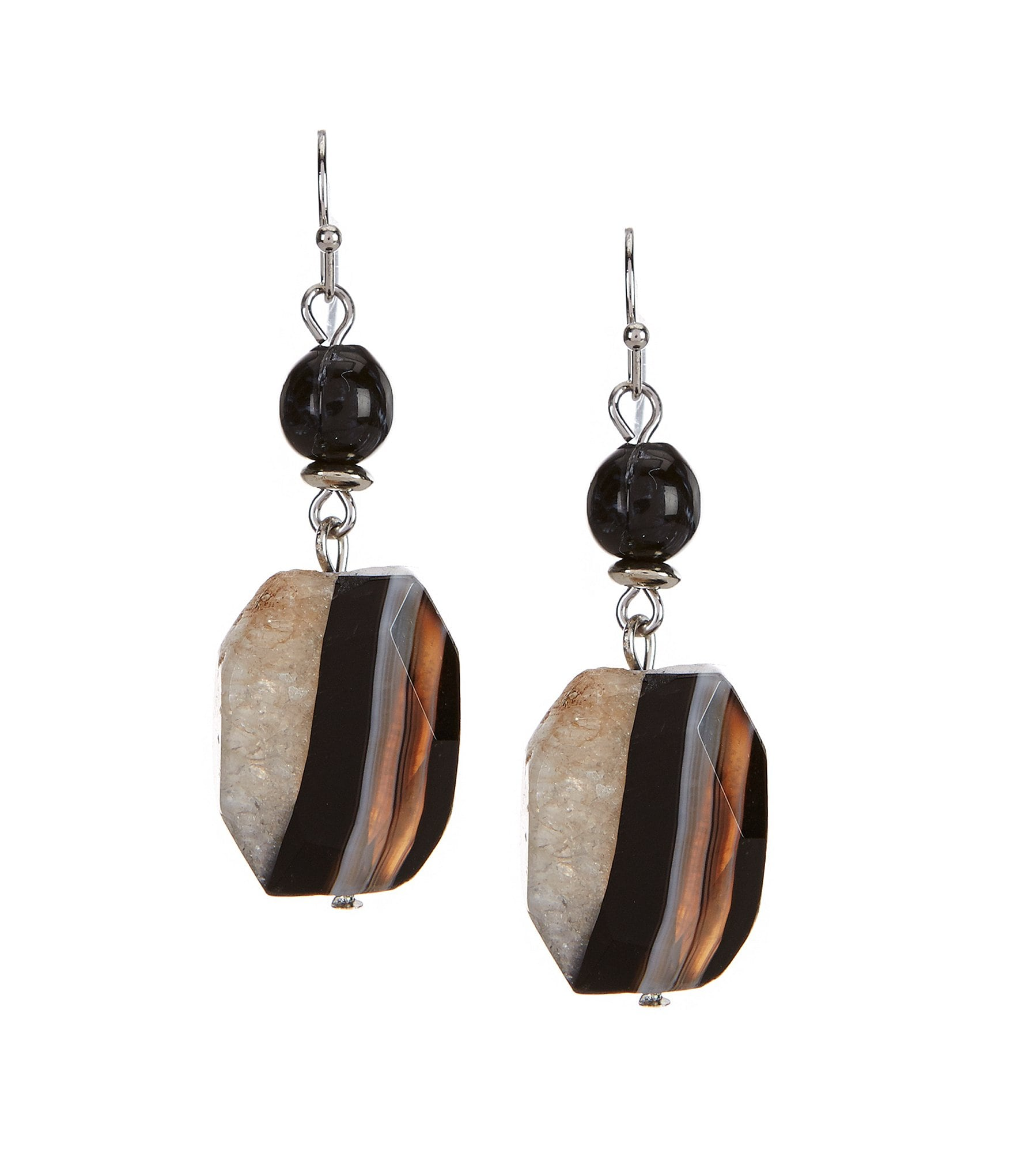 dillard s agate earrings dillards