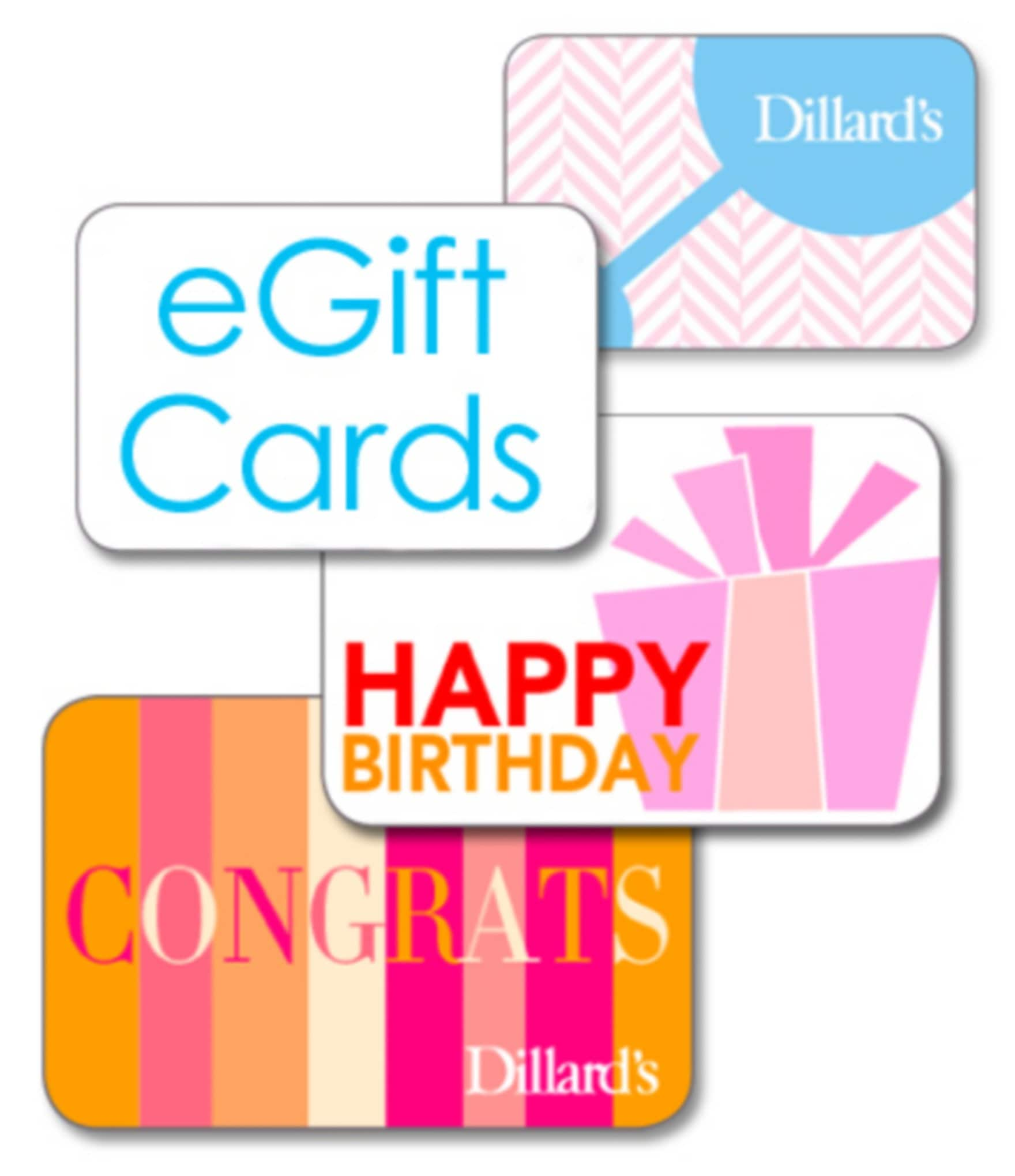 Dillards EGift Card