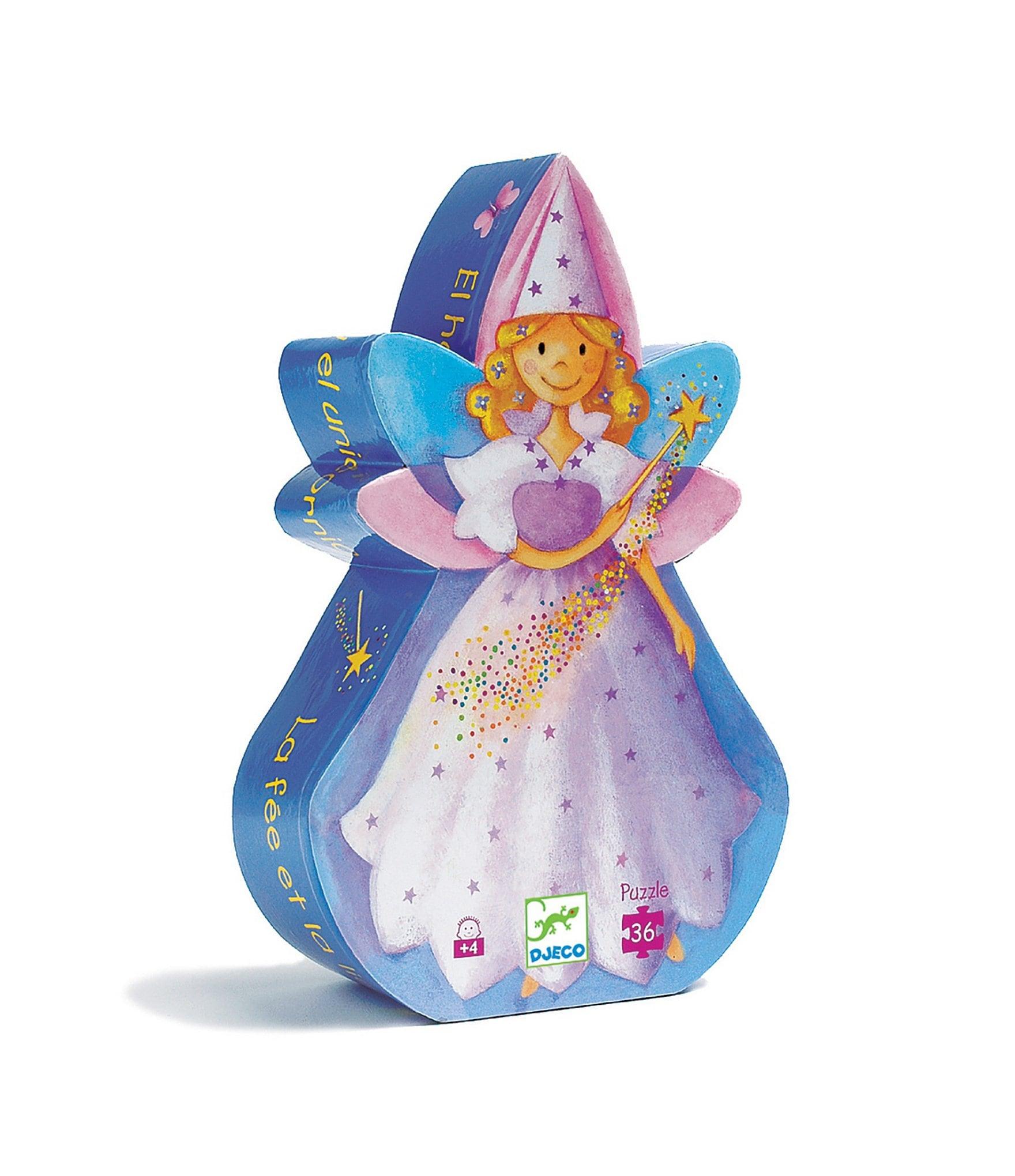 Circle Track Supply >> Djeco Fairy & Unicorn Puzzle | Dillard's