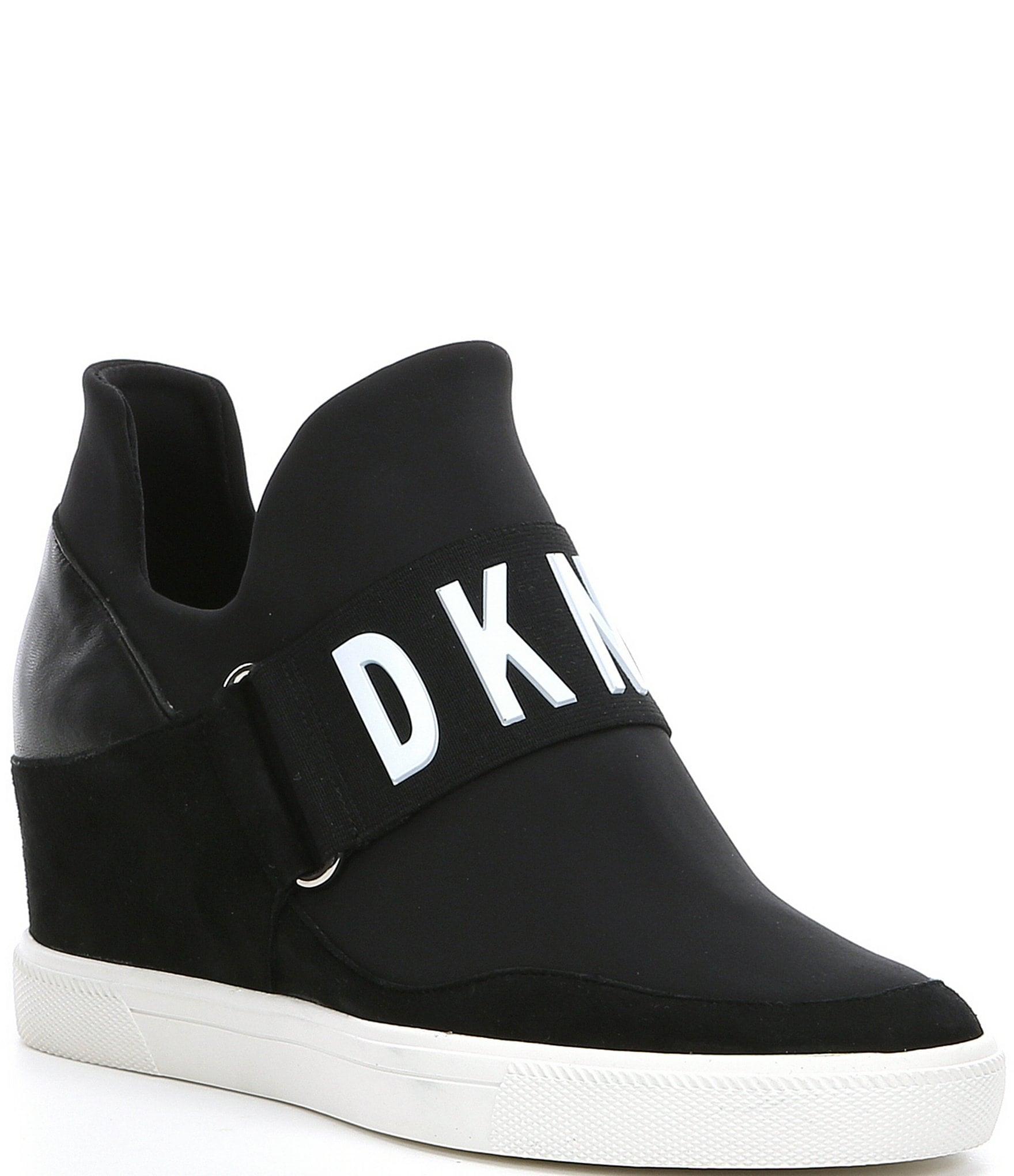 DKNY Cosmos Logo Hidden Wedge Slip On
