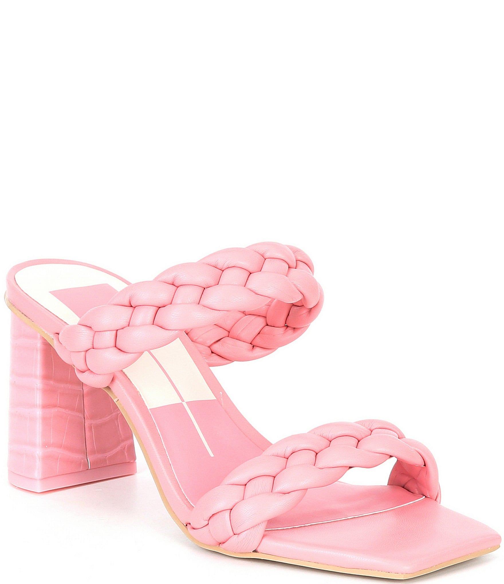 MON AMOUR Baby Pink Mesh Slip Dress and Thong Set