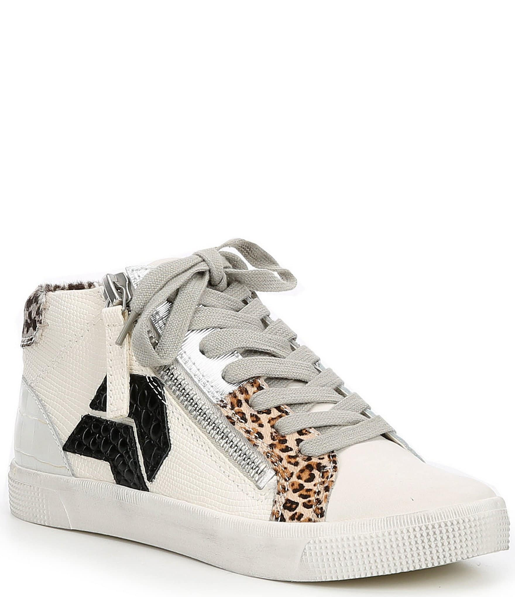 Dolce Vita Zonya Leather and Leopard