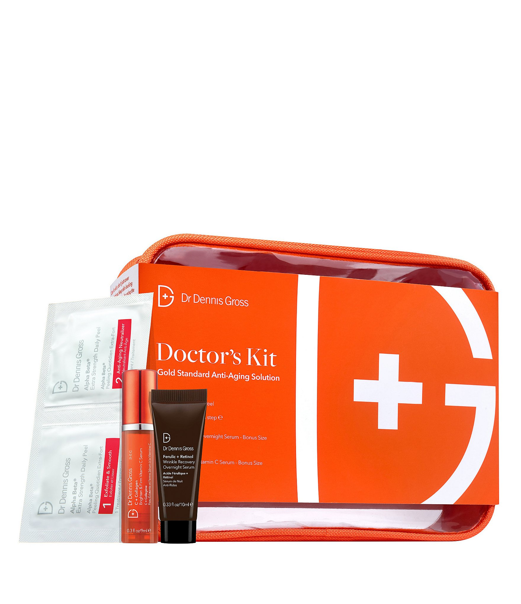 Dr Dennis Gross Skincare Doctor S Kit Gold Standard Anti Aging