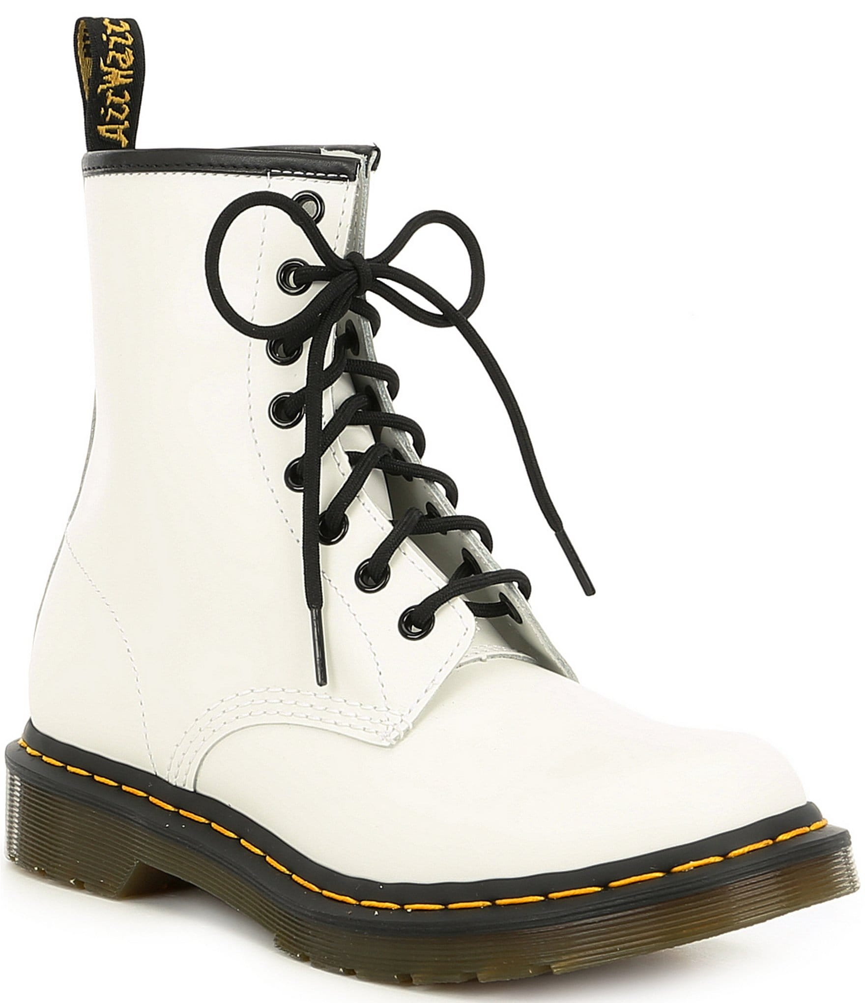 50a404725 Dr. Martens Women's 1460 Smooth Leather Combat Boots