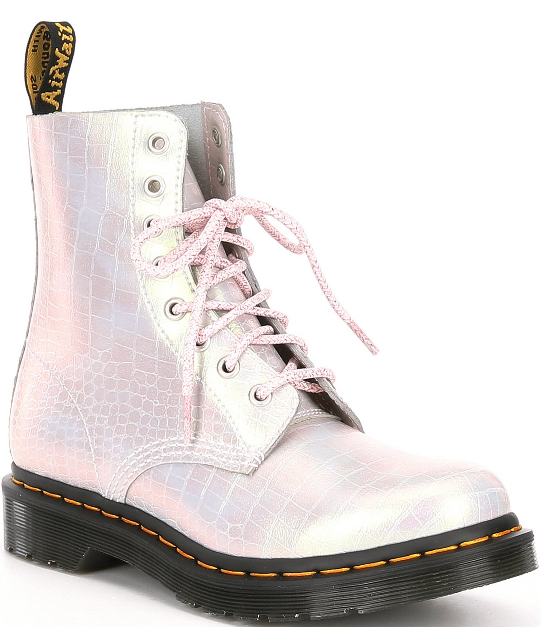 Dr. Martens 1460 Pascal Croco Embossed