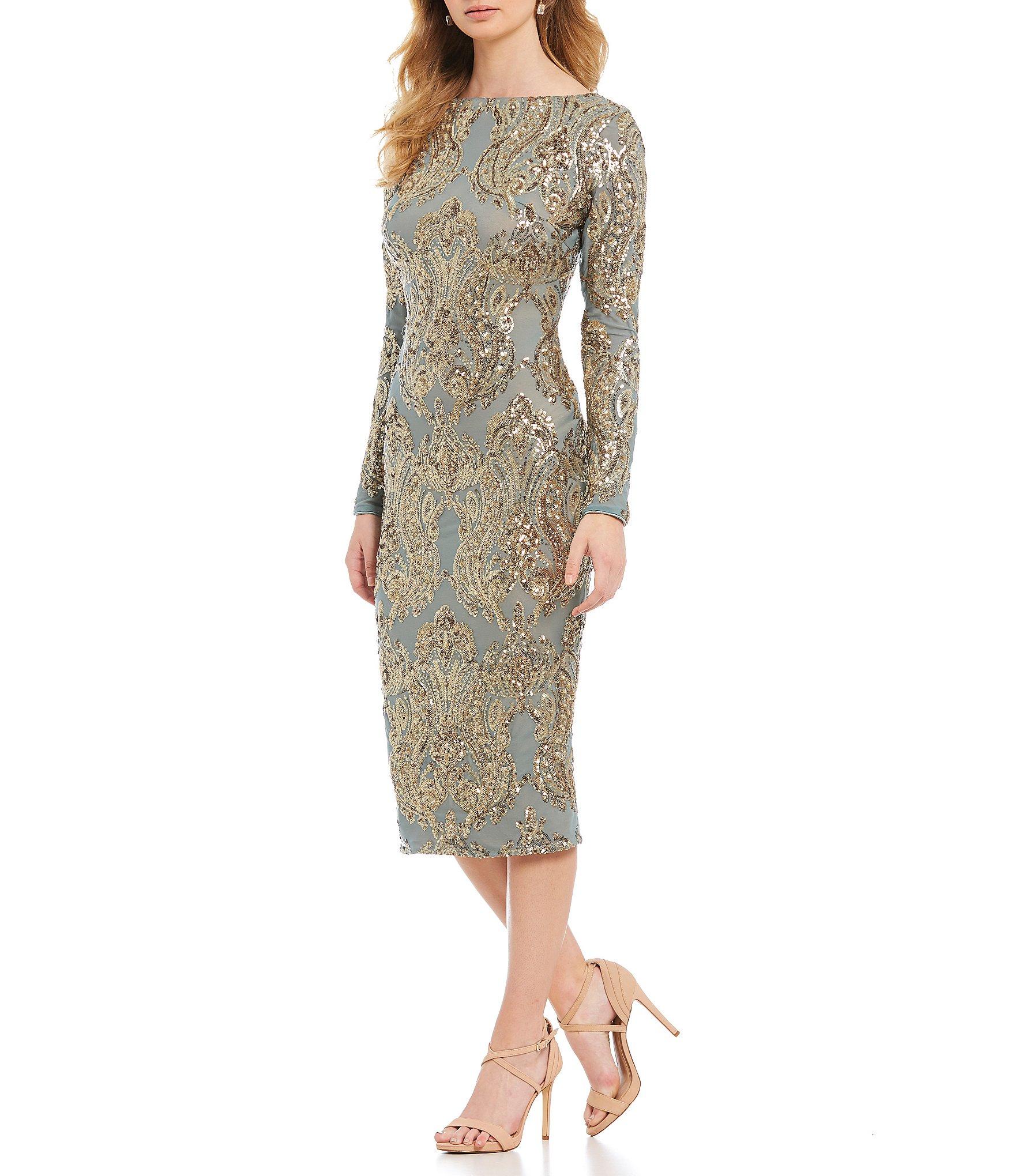 4c9fee3c Dress the Population Women's Clothing   Dillard's