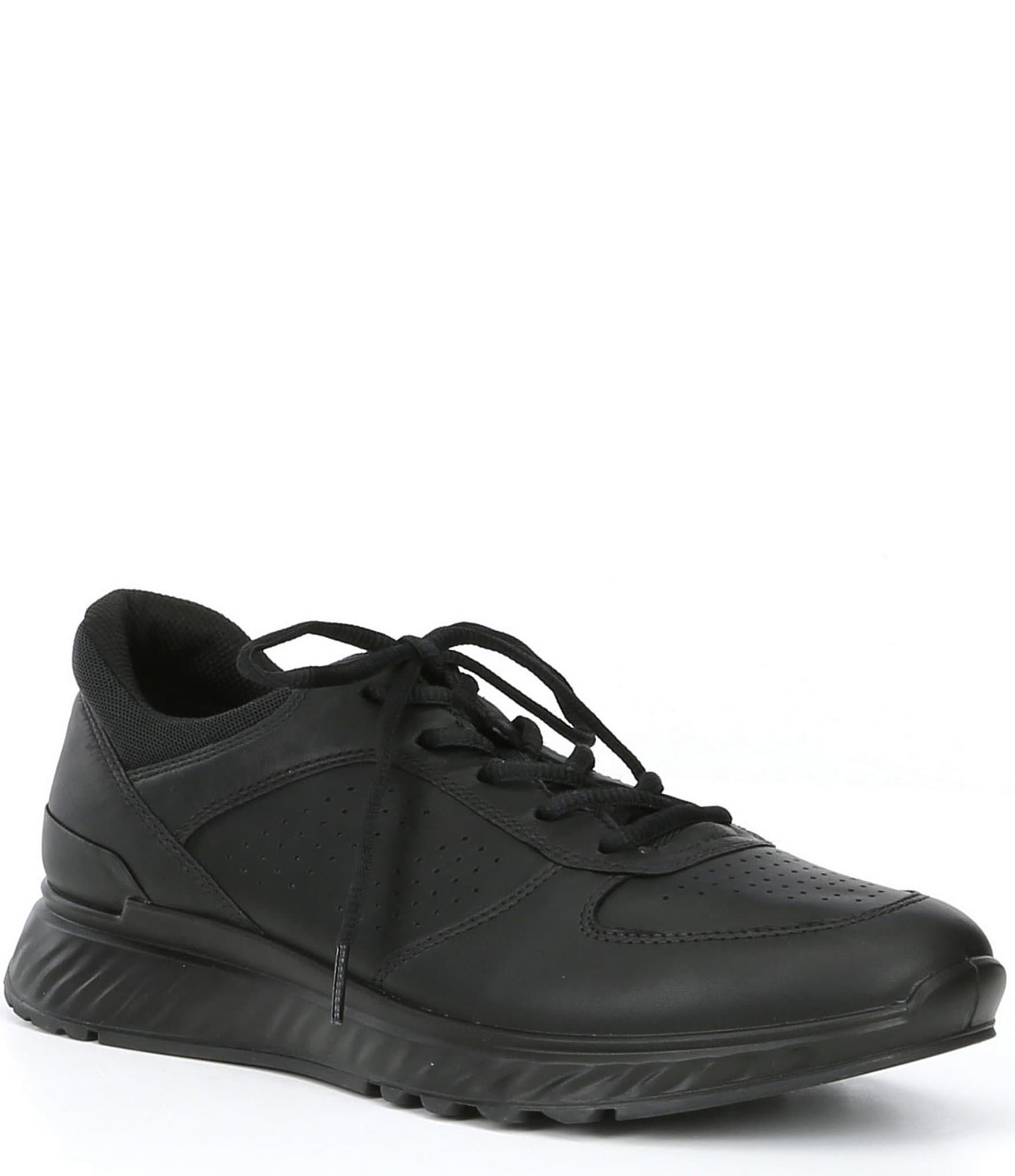 ECCO Men's Exostride Leather Lace-Up
