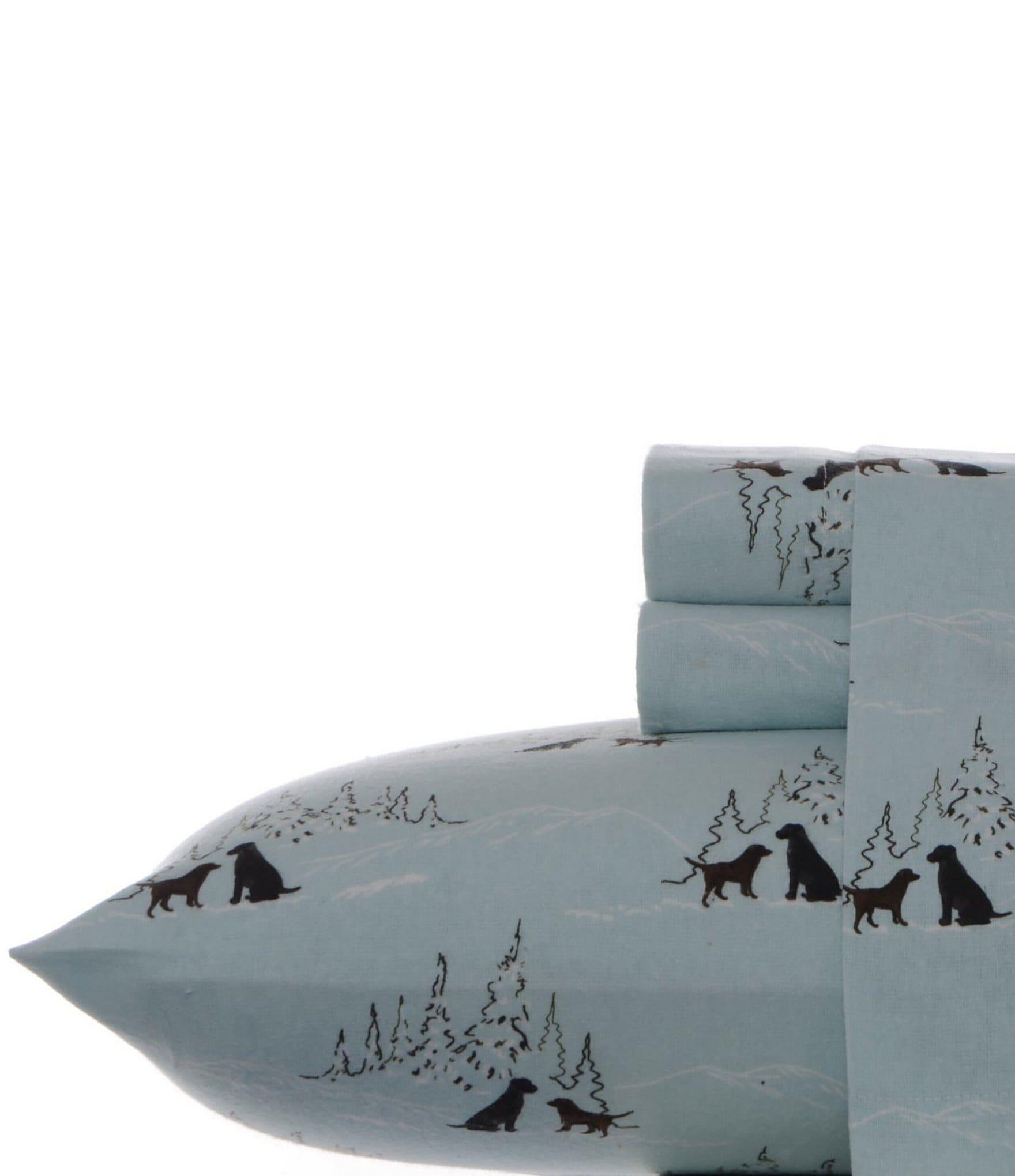Eddie Bauer Dog Friends Flannel Sheet Set Dillard S