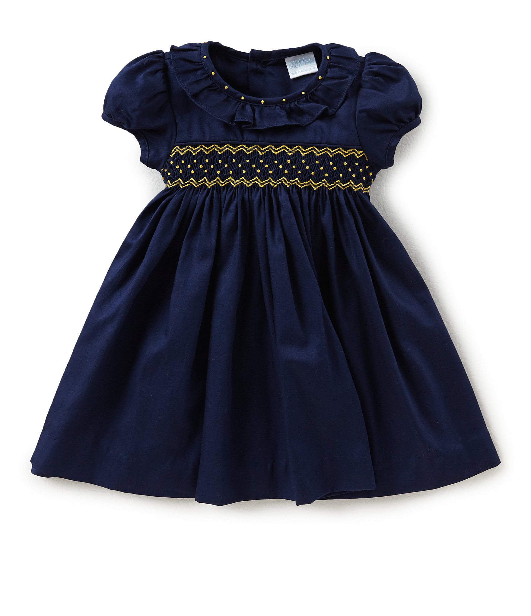 Navy Baby Dress Shoes