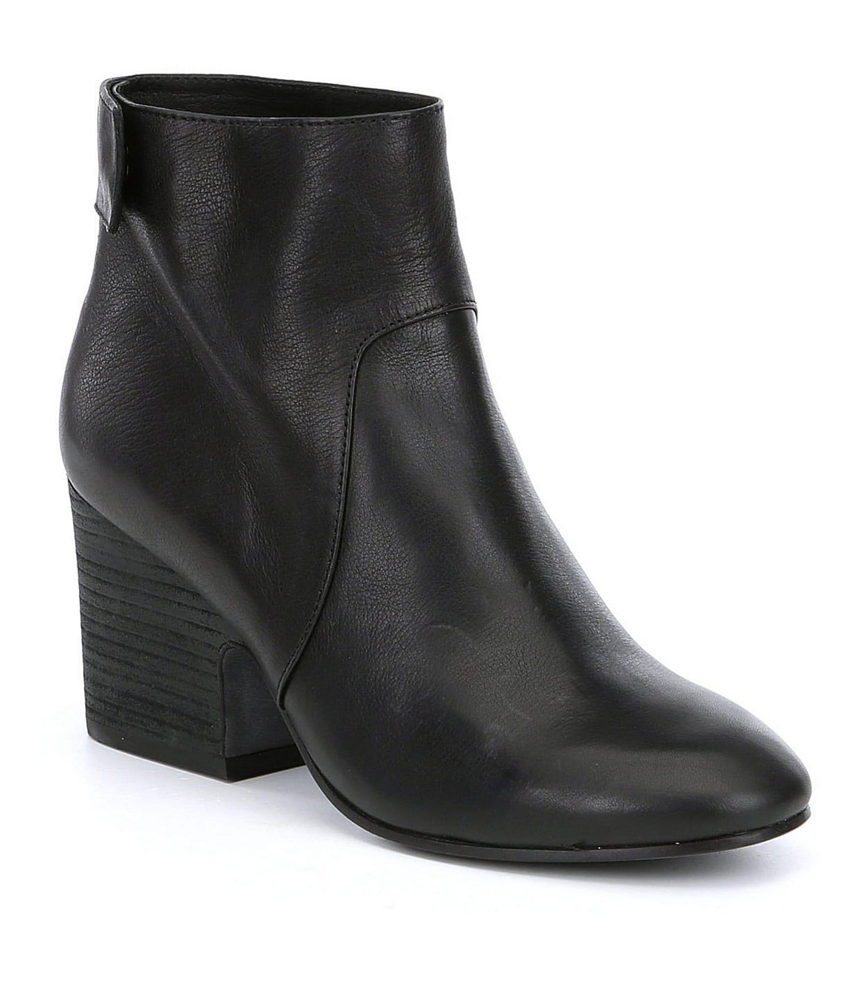 eileen fisher harris leather boots dillards