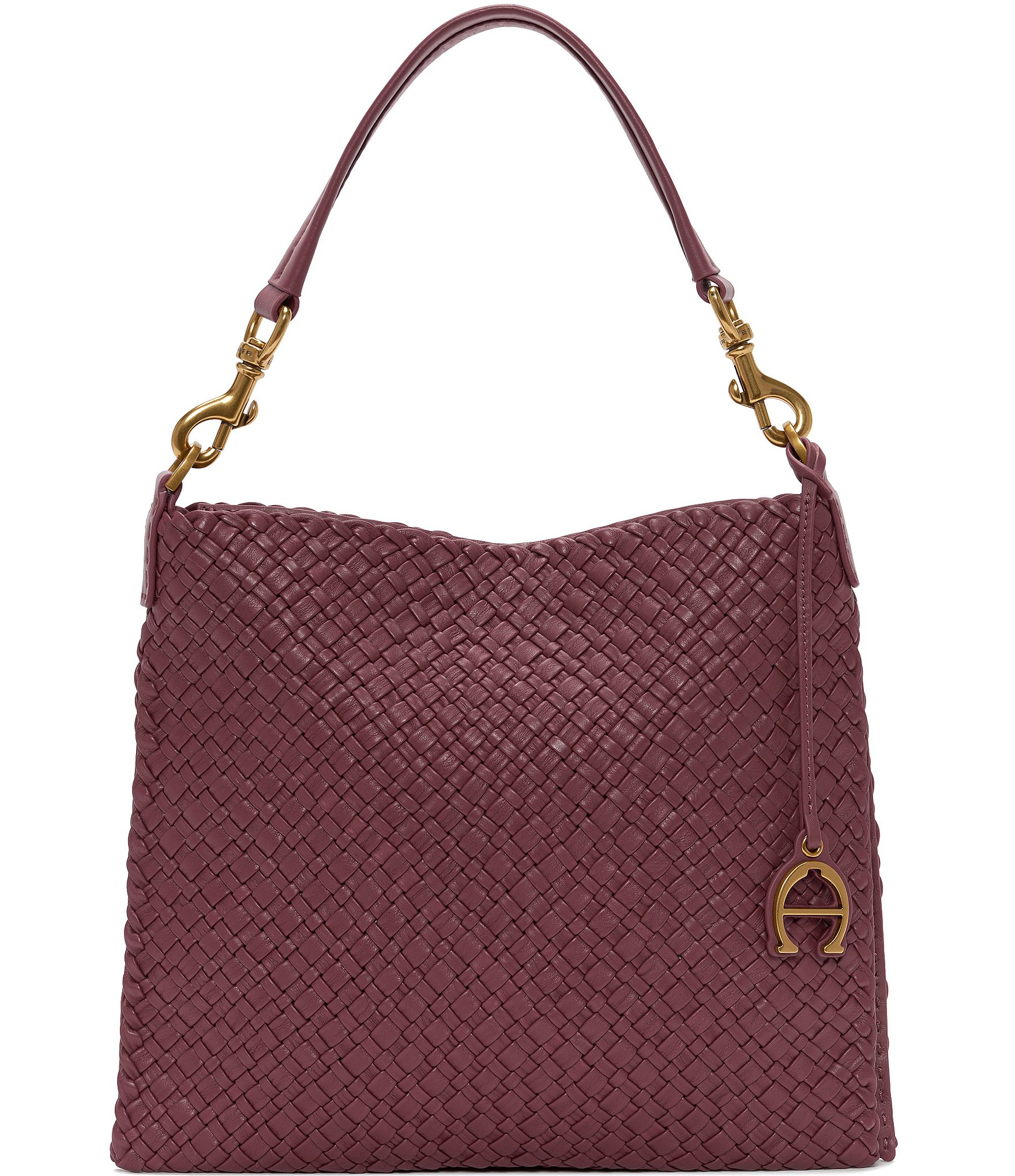 Etienne Aigner Irena Woven Small Hobo Bag | Dillard's