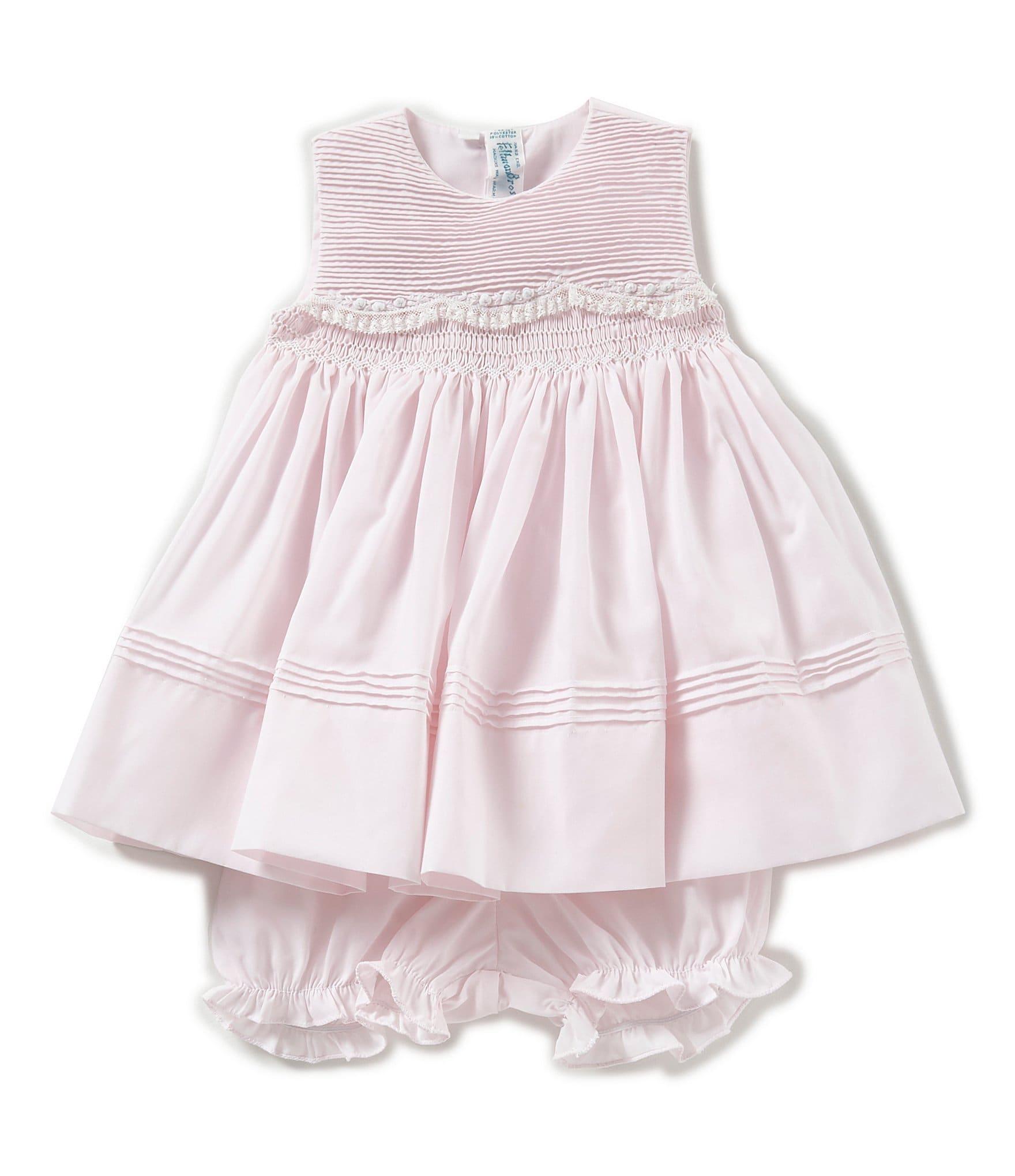 7f44b67c131f Feltman Brothers Baby Girls 3-9 Months Sleeveless Scallop Lace Dress |  Dillard's