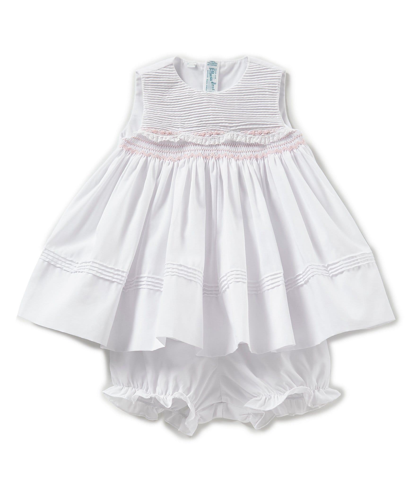 0999f123729d White Baby Girl Dresses | Dillard's