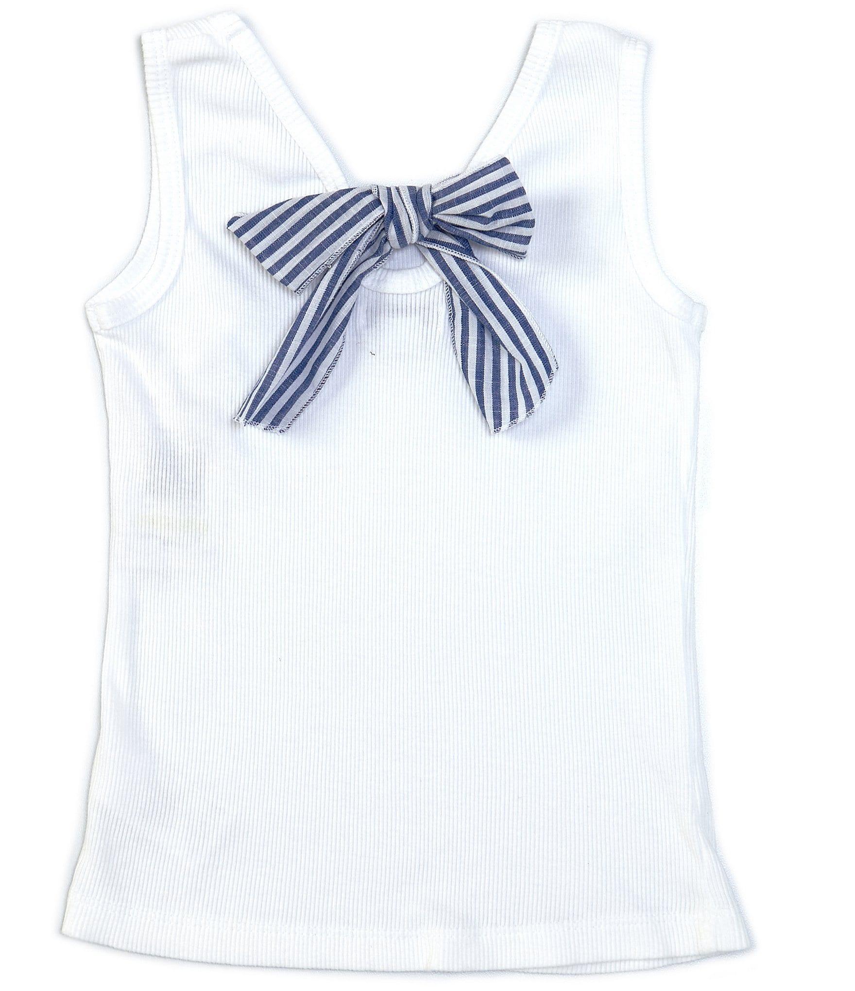Blue Daisy Stripe Joules Baby Girls Ellis Jersey Romper