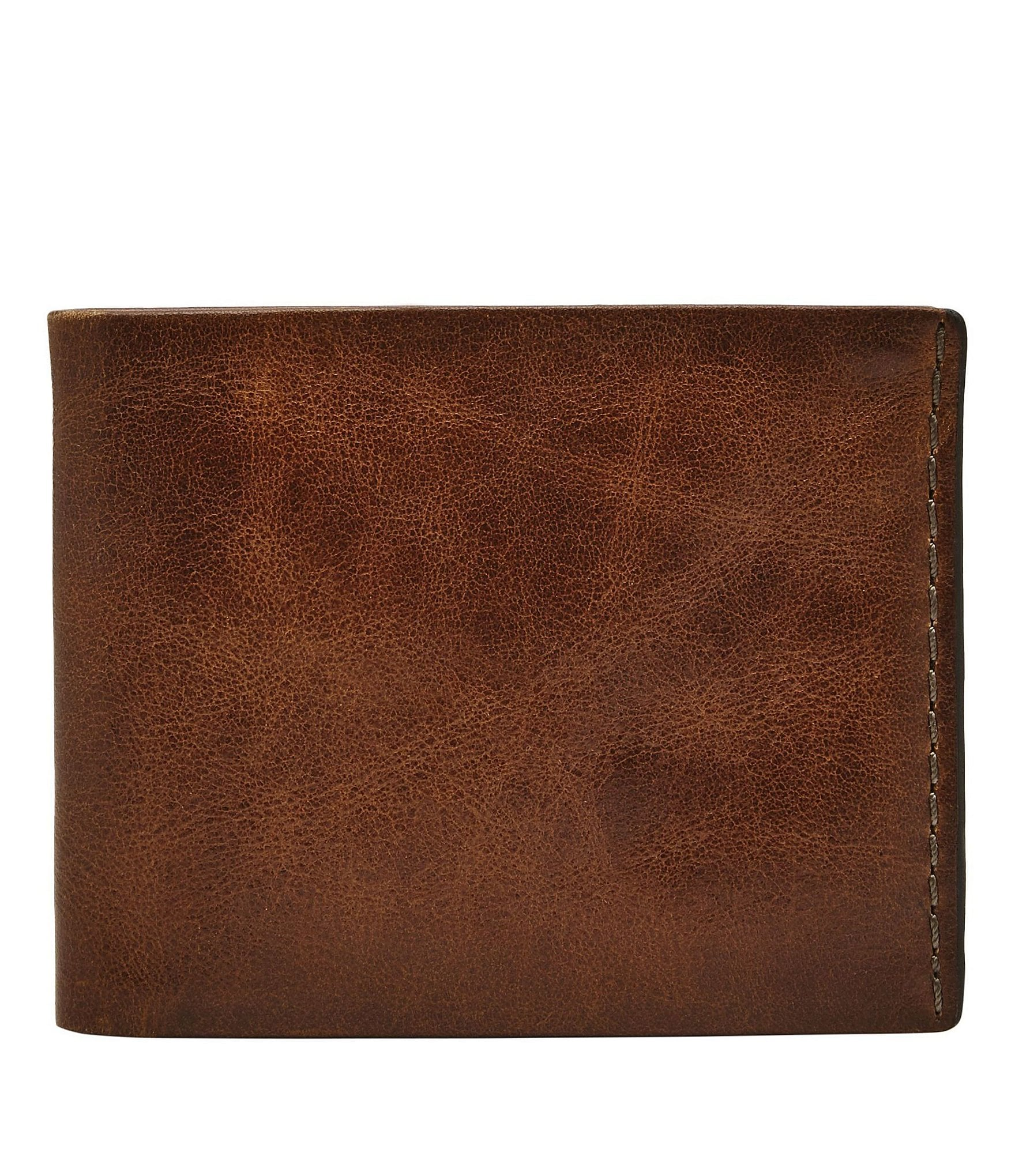 3f41de2f8c81 Fossil Beck Leather Bifold Wallet with Flip ID