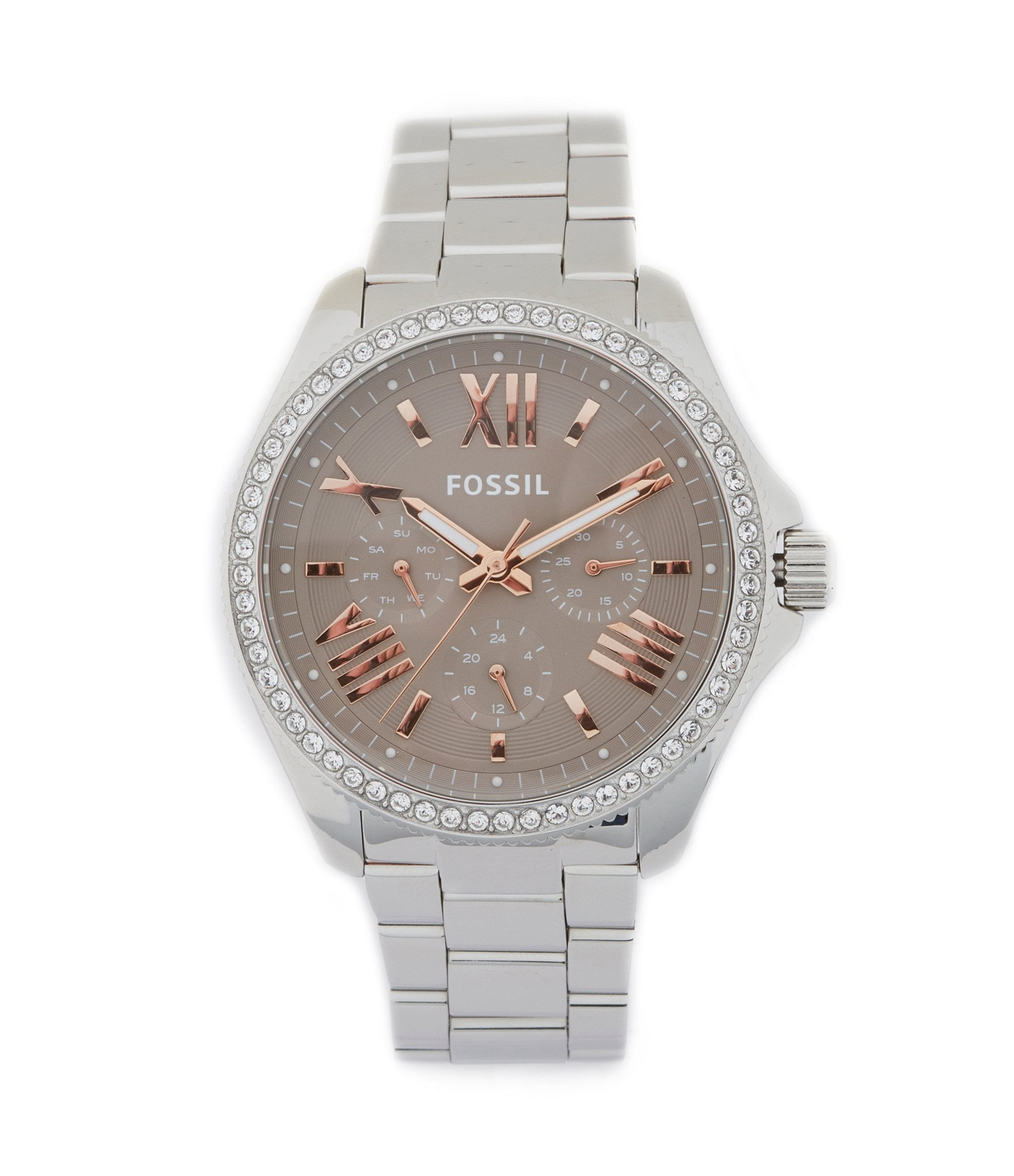 fossil cecile 180 multifunction stainless steel