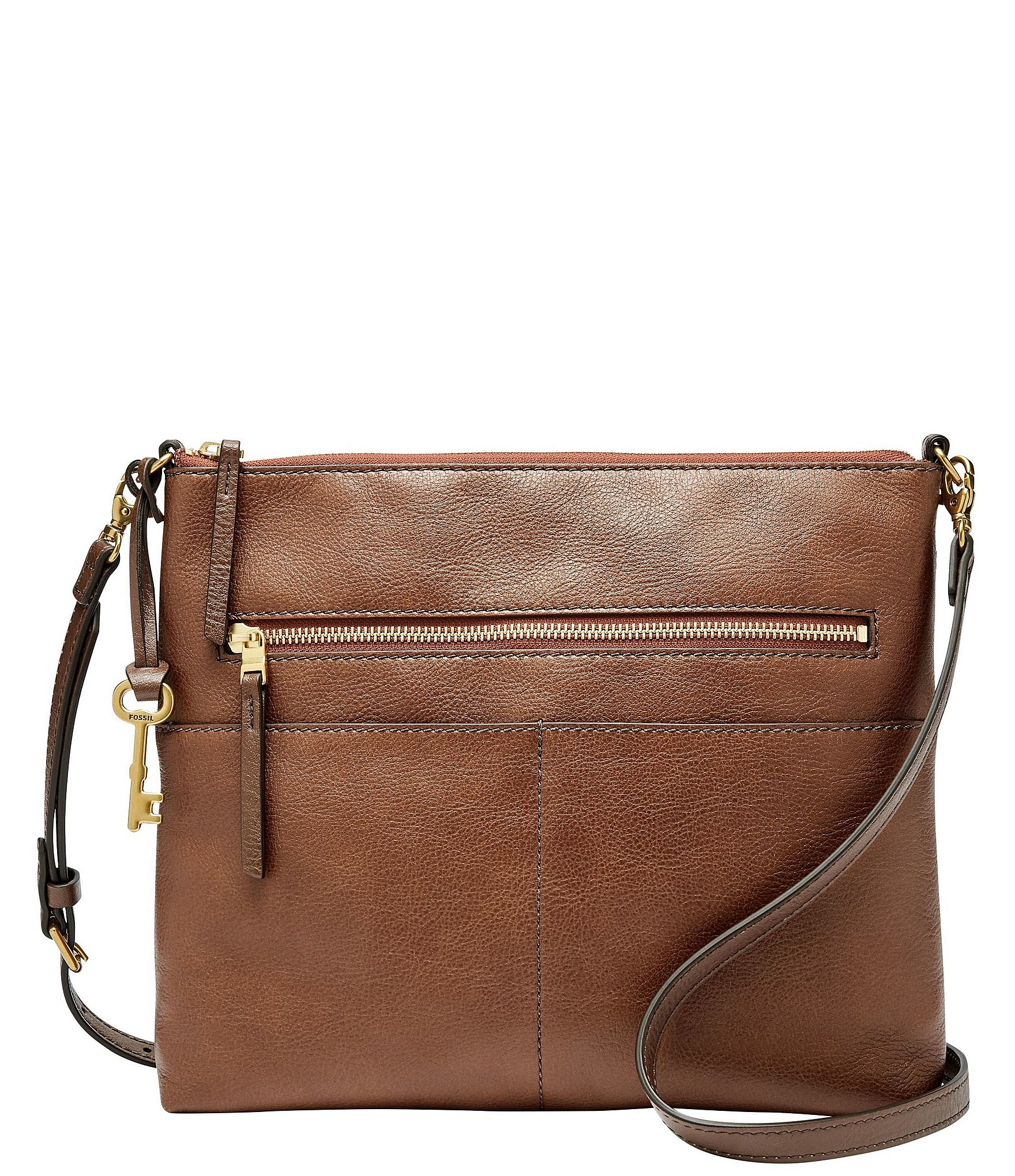 Fiona Large Leather Crossbody Bag