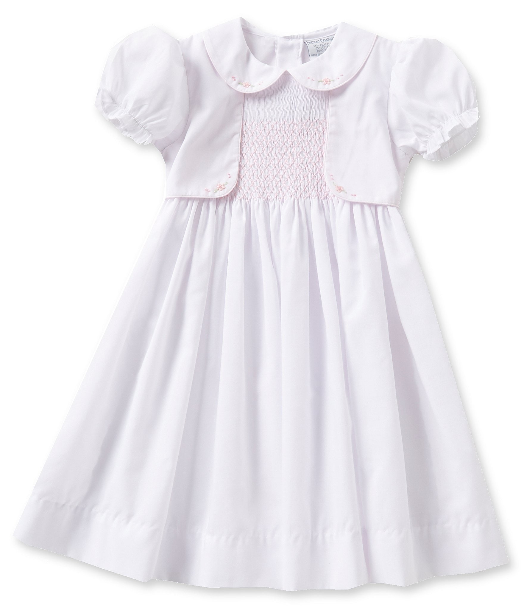 Friedknit Creations Baby Girls 12 24 Months Mock Vest