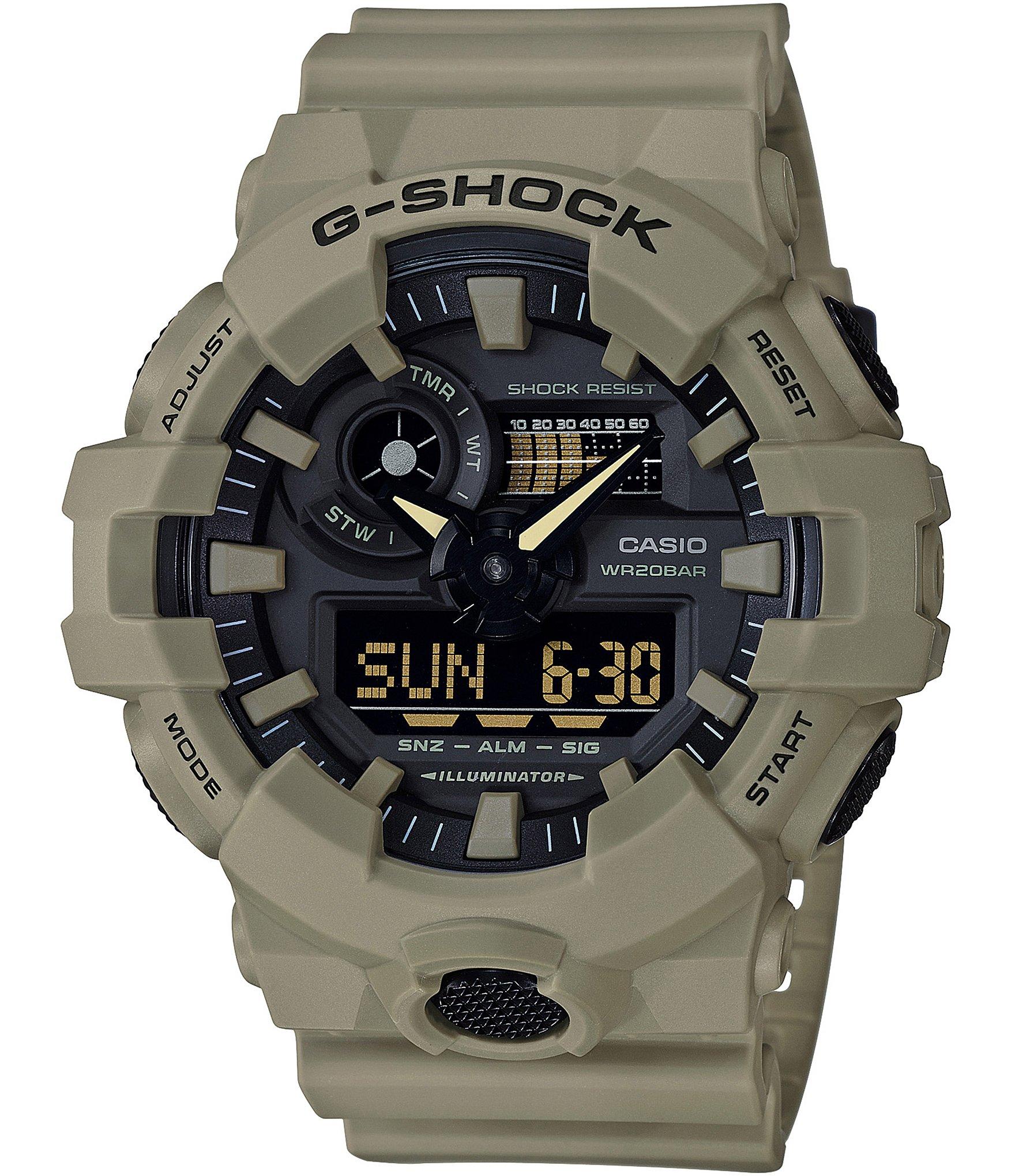 2ff3feef4286 G-Shock Ana-Digi Resin-Strap Watch