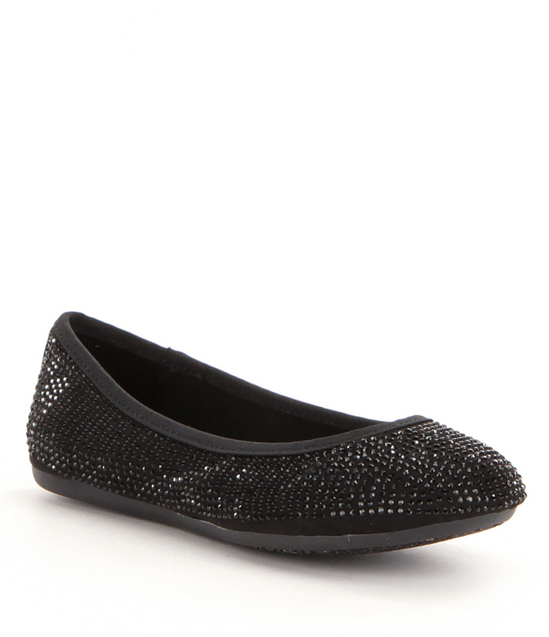 Gb Girls Jolly Girl Jeweled Ballet Flats Dillards