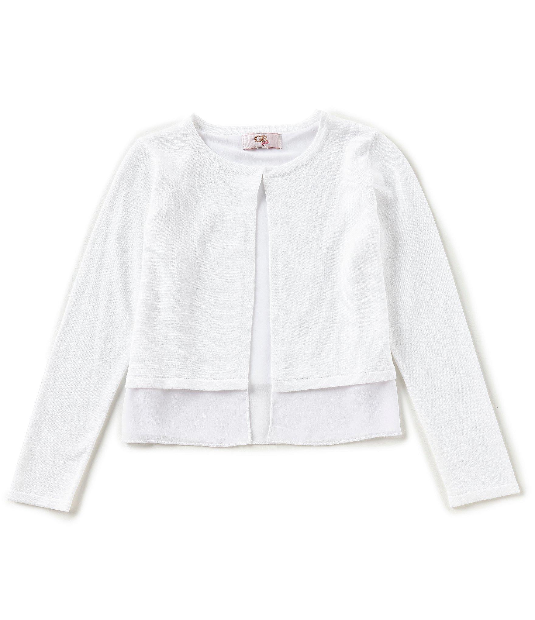 d4873b9bd5d3a9 Girls' Sweaters & Cardigans   Dillard's