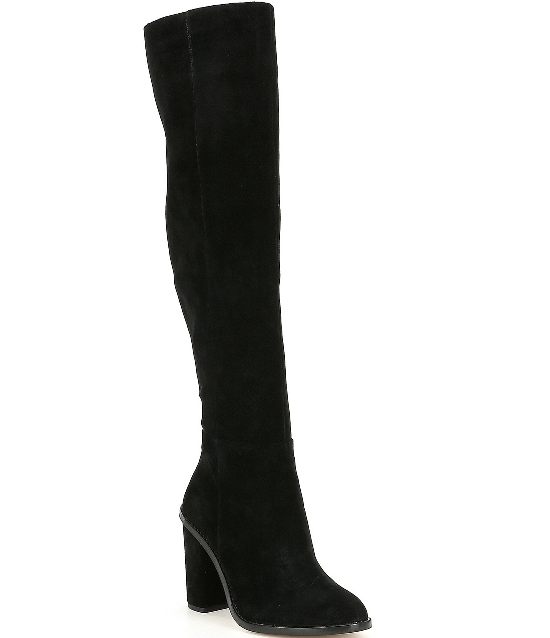 1b9fa9a7690 Gianni Bini Barrine Suede Over the Knee Boots