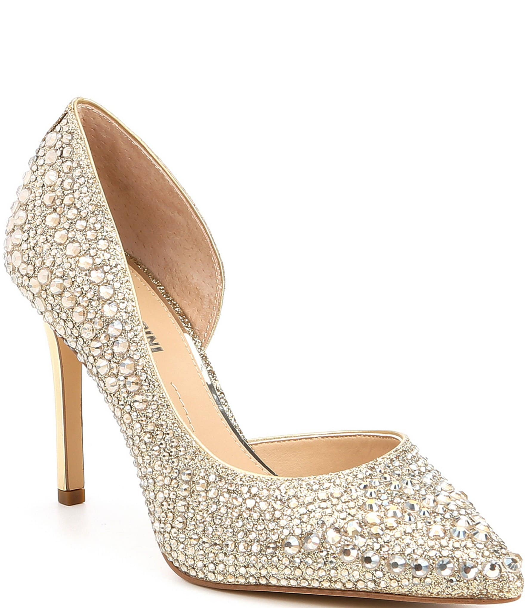 c48f393718b2 Gold Women s Pumps