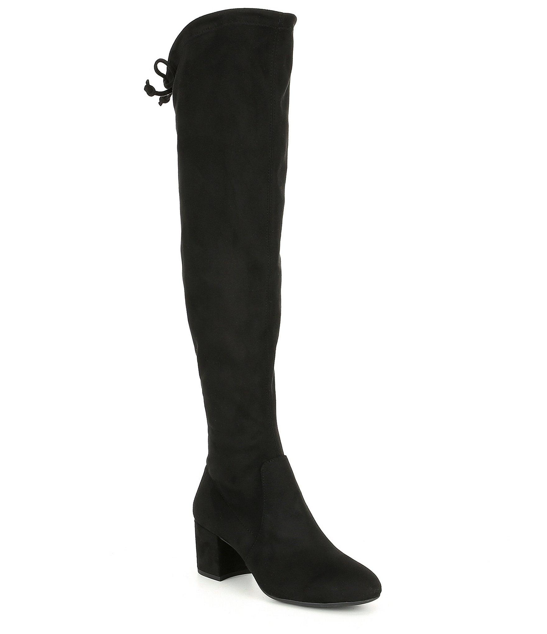 f2f3b2e9c5d Gianni Bini Trillia Block Heel Stretch Over The Knee Boots