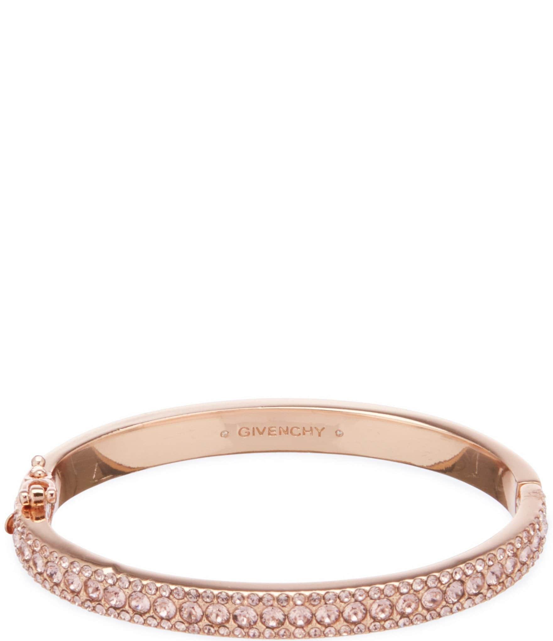 Givenchy Crystal Pave Bangle Bracelet